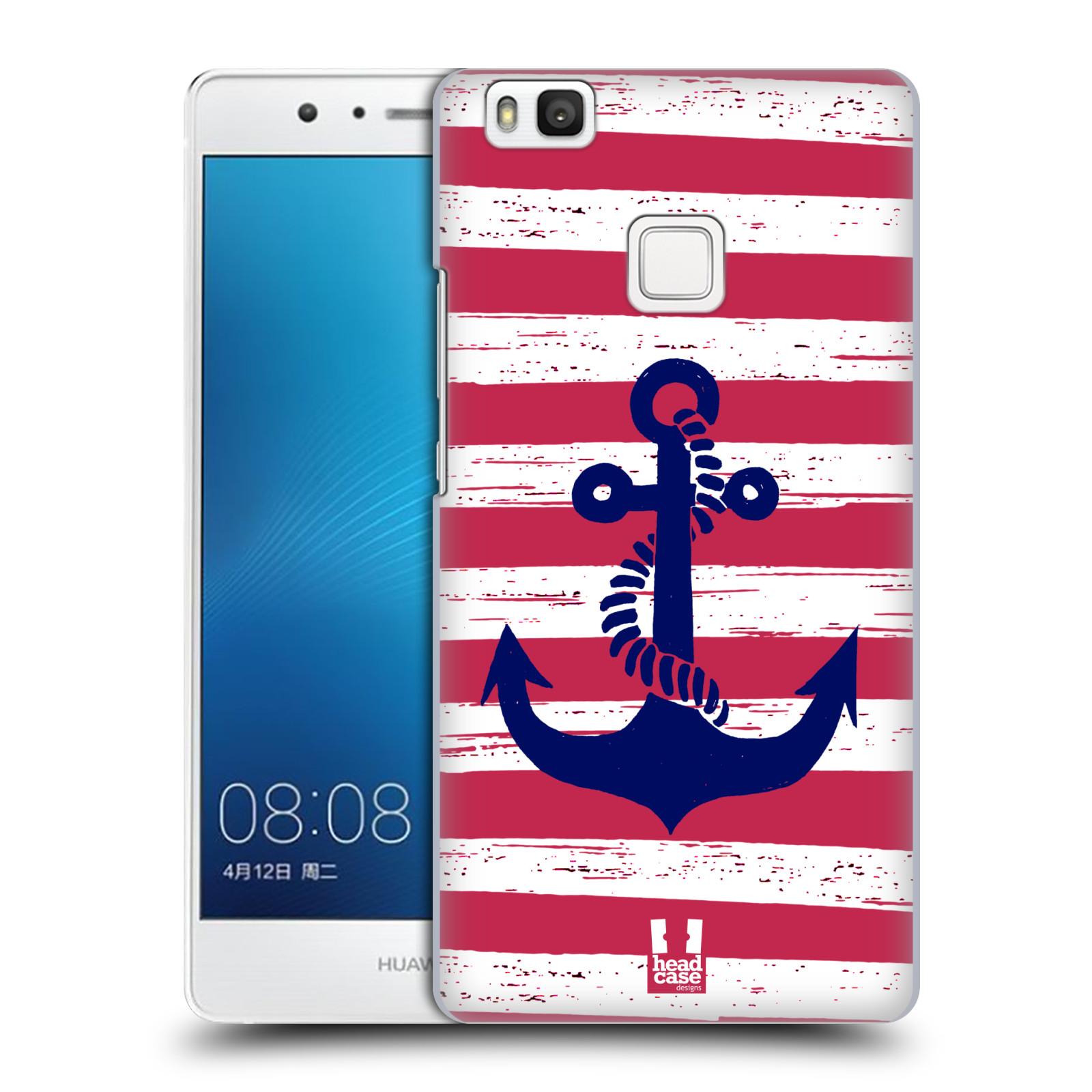Plastové pouzdro na mobil Huawei P9 Lite HEAD CASE KOTVA S PRUHY