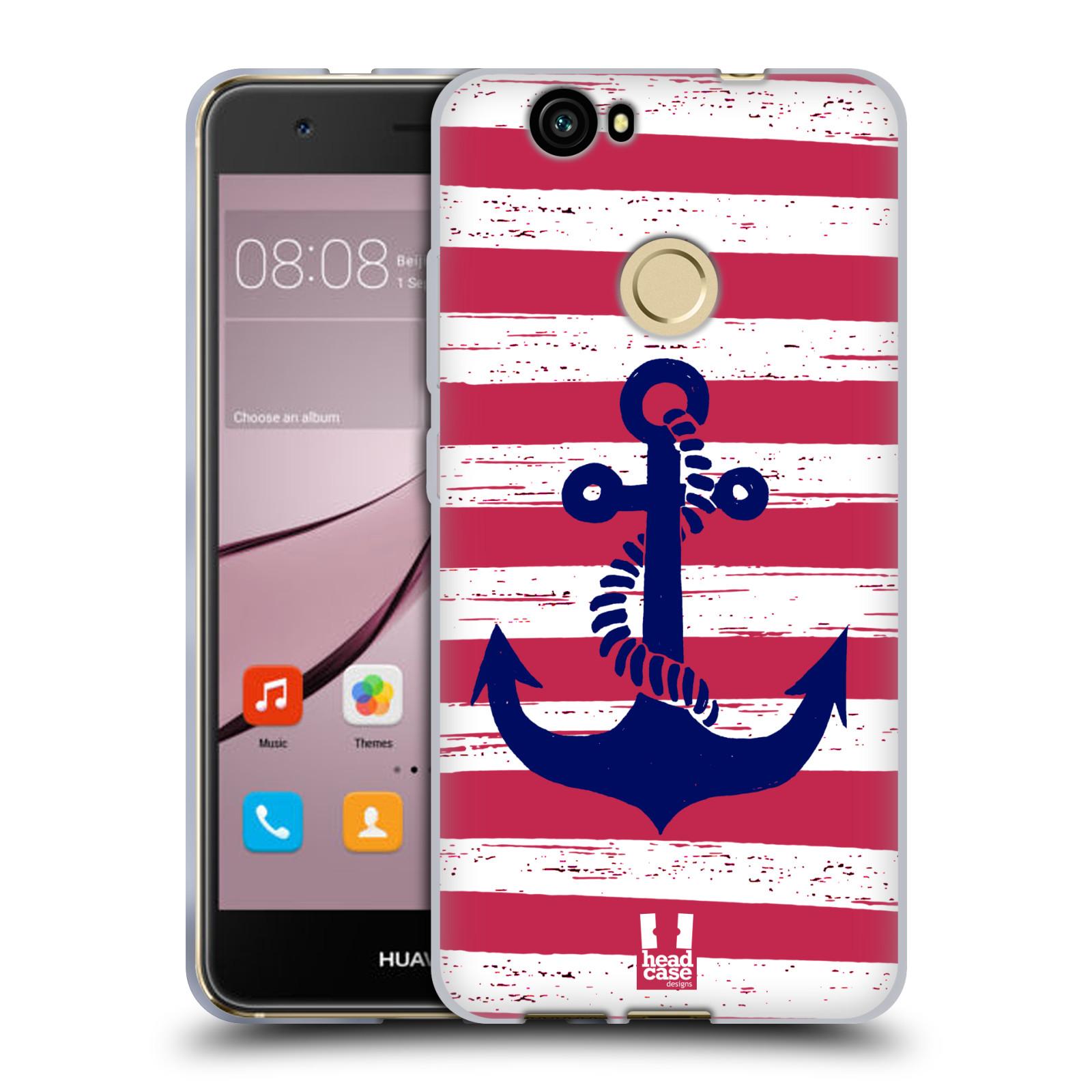 Silikonové pouzdro na mobil Huawei Nova - Head Case - KOTVA S PRUHY
