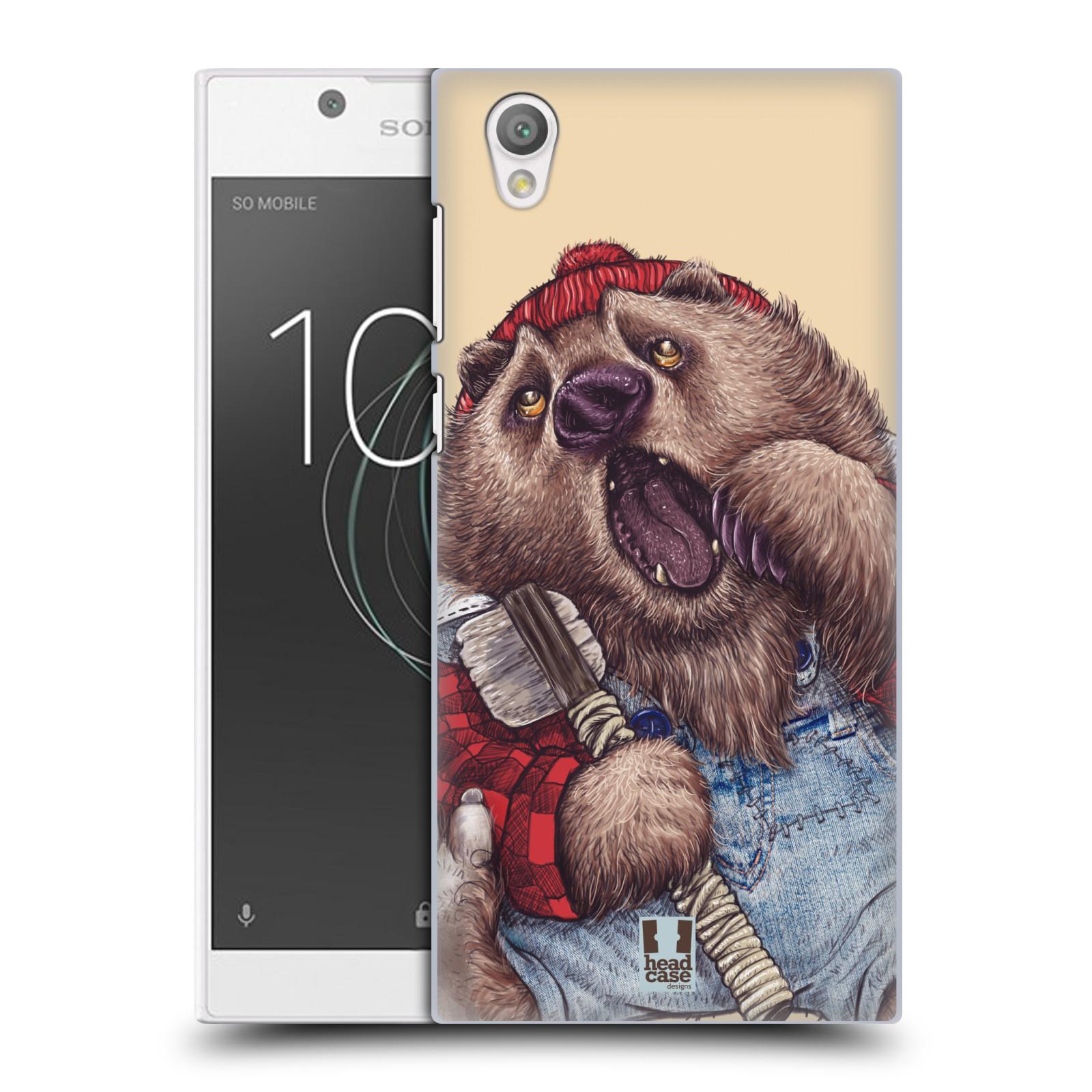 Plastové pouzdro na mobil Sony Xperia L1 - Head Case - ANIMPLA MEDVĚD