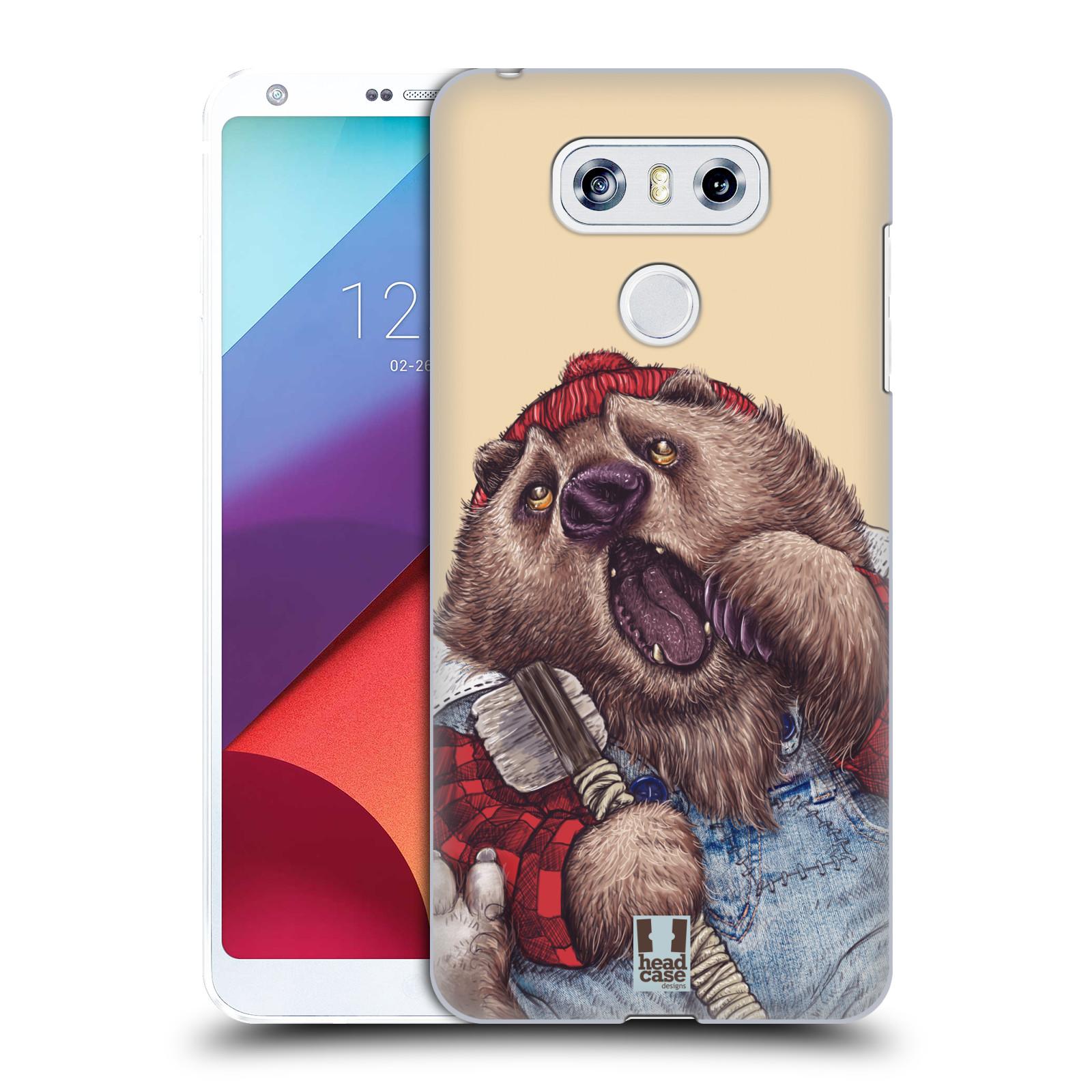 Plastové pouzdro na mobil LG G6 - Head Case ANIMPLA MEDVĚD