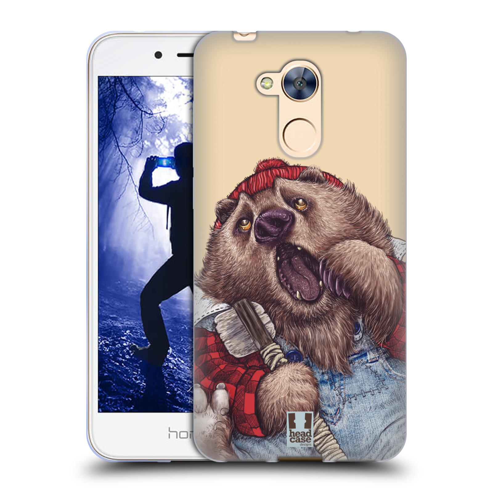 Silikonové pouzdro na mobil Honor 6A - Head Case - ANIMPLA MEDVĚD