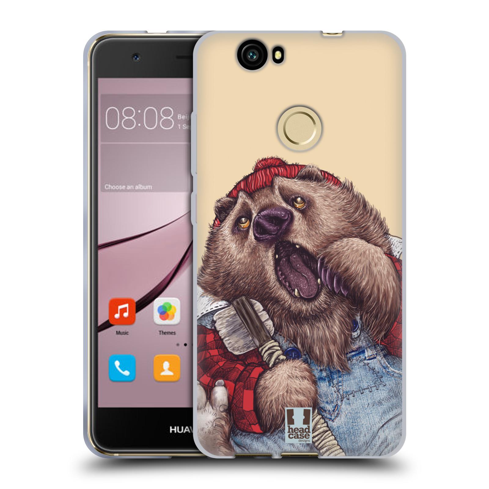 Silikonové pouzdro na mobil Huawei Nova - Head Case - ANIMPLA MEDVĚD