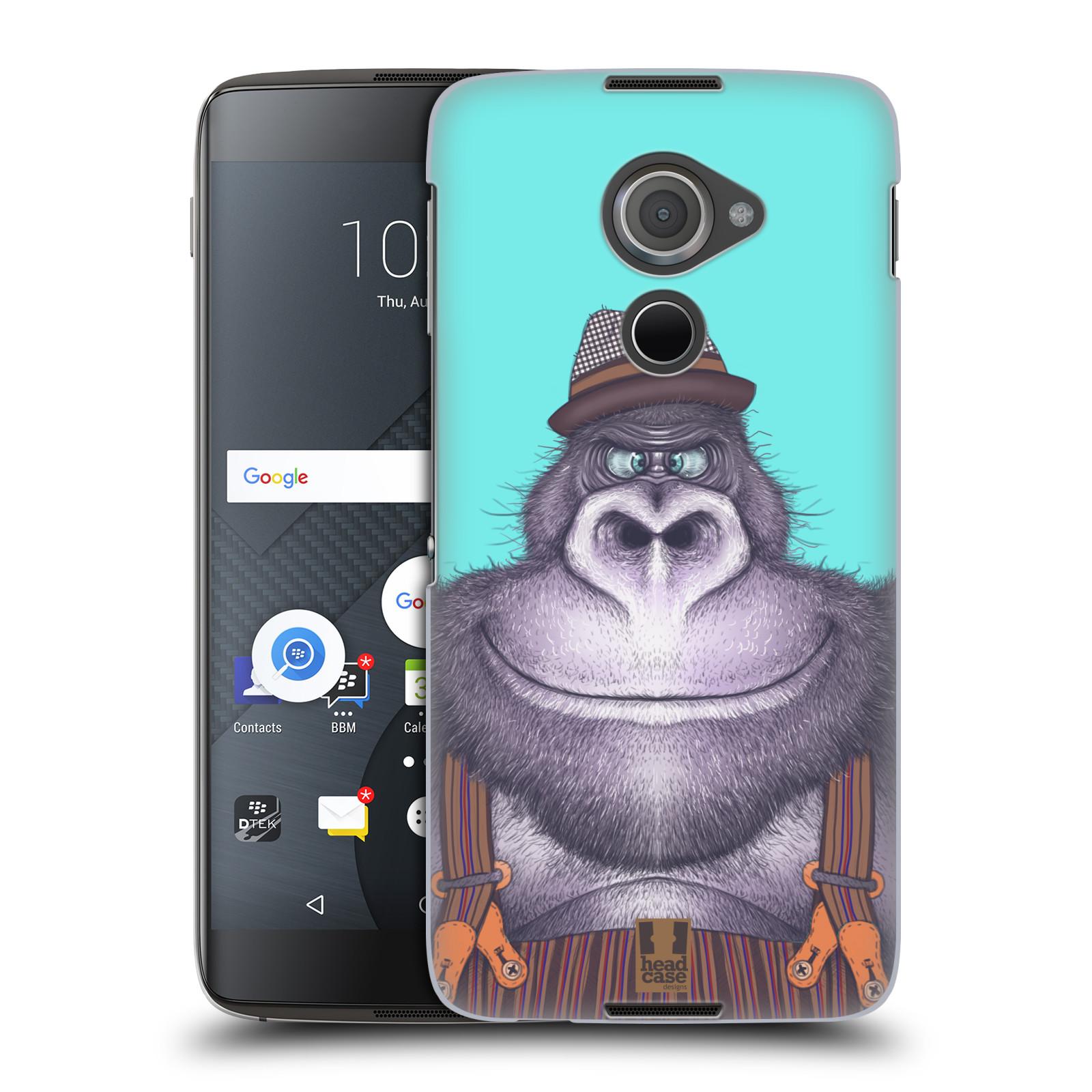 Plastové pouzdro na mobil Blackberry DTEK60 (Argon) - Head Case ANIMPLA GORILÁK