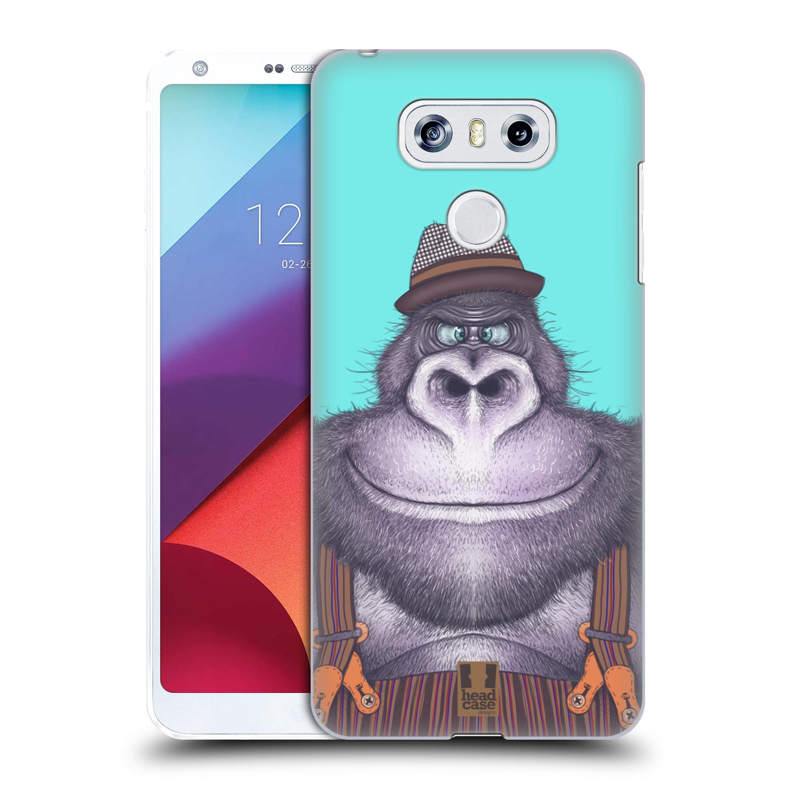 Plastové pouzdro na mobil LG G6 - Head Case ANIMPLA GORILÁK