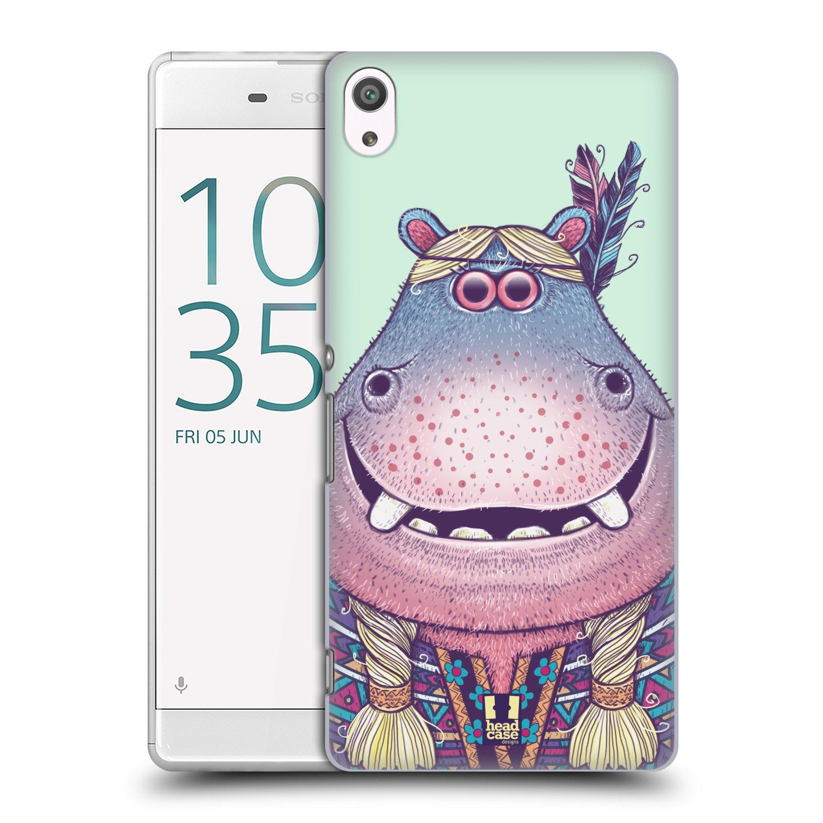 Plastové pouzdro na mobil Sony Xperia XA Ultra HEAD CASE ANIMPLA HROŠICE