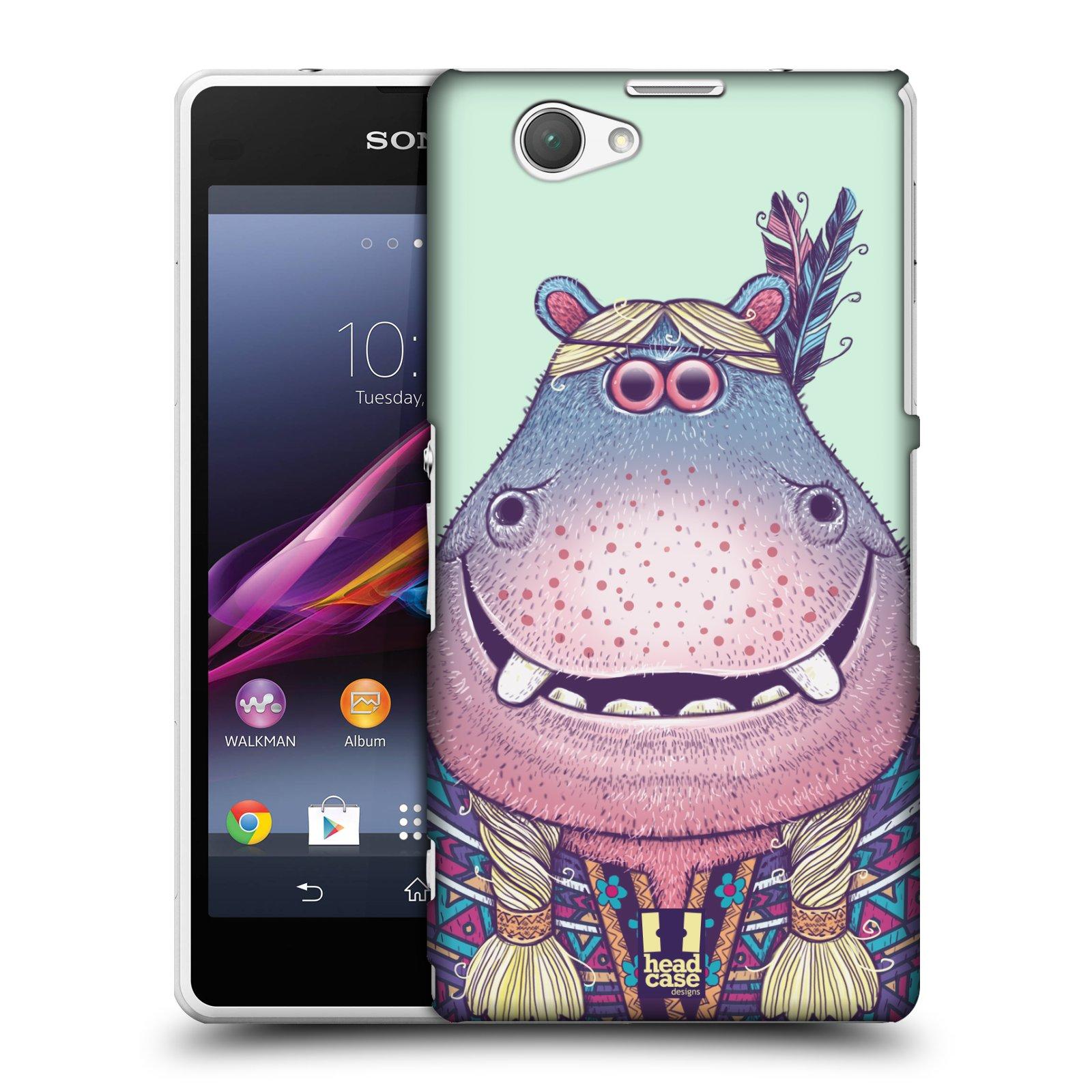 Plastové pouzdro na mobil Sony Xperia Z1 Compact D5503 HEAD CASE ANIMPLA HROŠICE