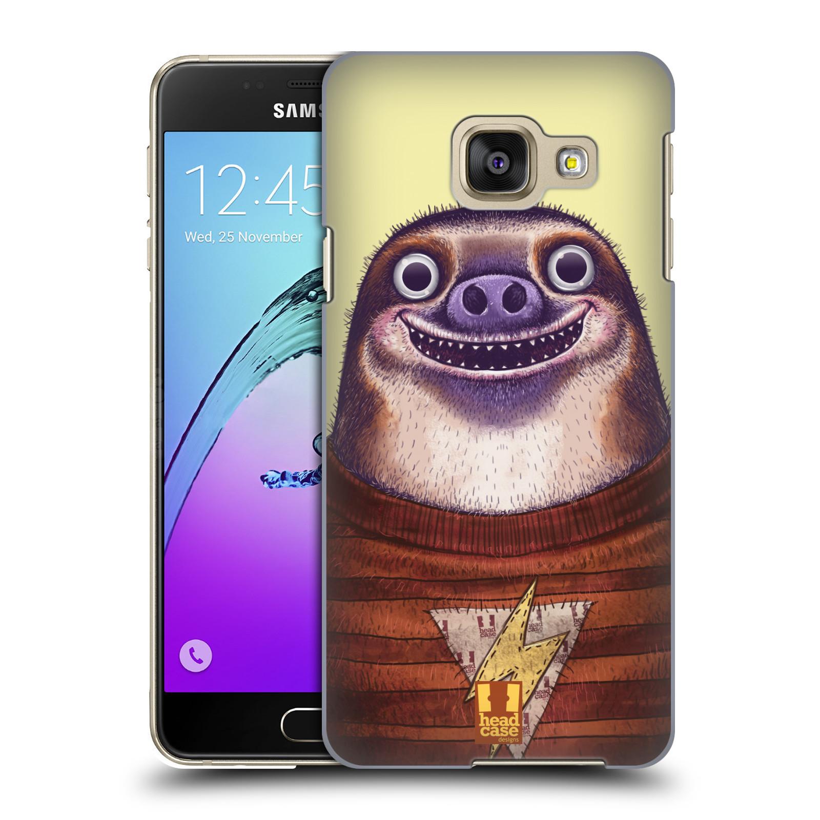 Plastové pouzdro na mobil Samsung Galaxy A3 (2016) HEAD CASE ANIMPLA LENOCHOD