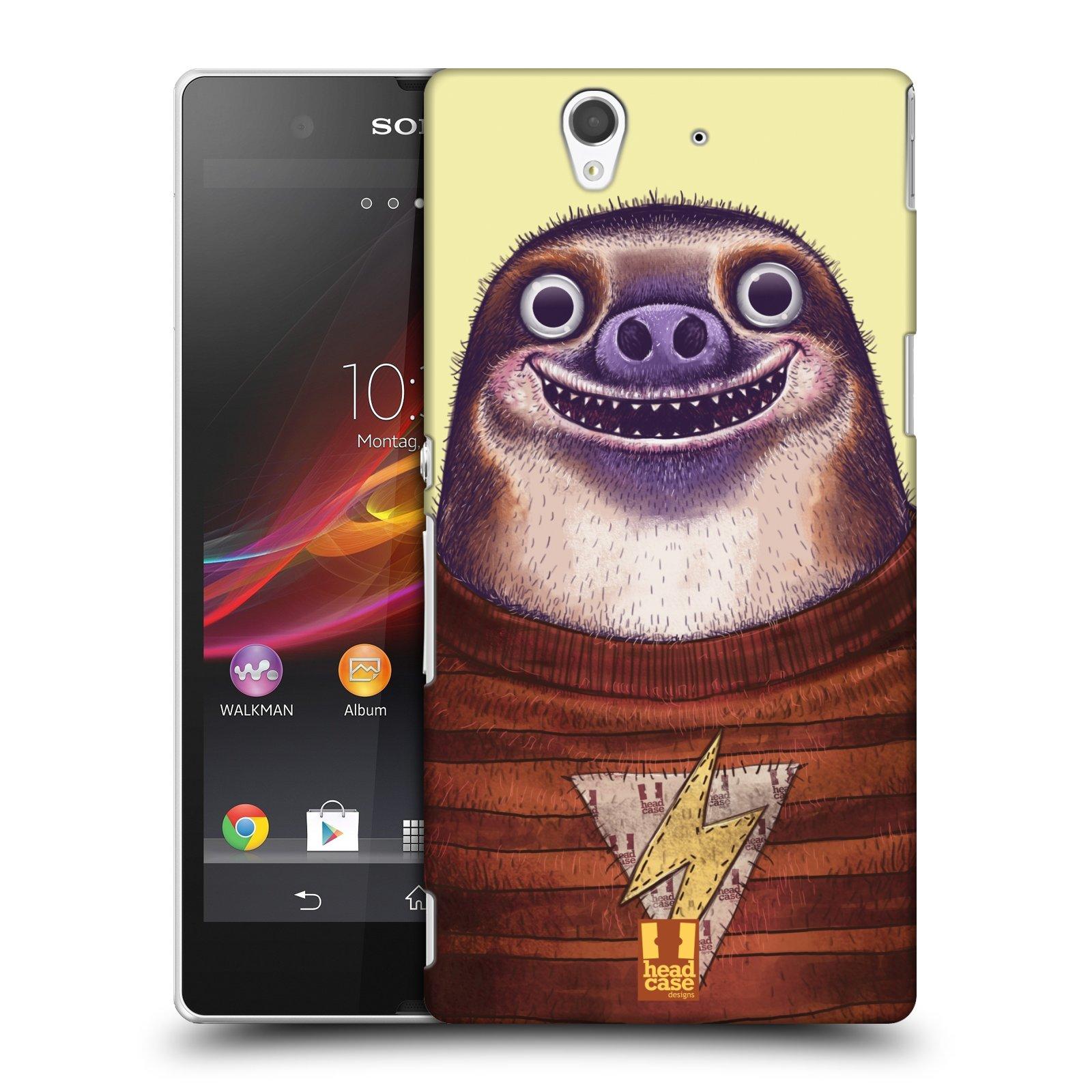 Plastové pouzdro na mobil Sony Xperia Z C6603 HEAD CASE ANIMPLA LENOCHOD