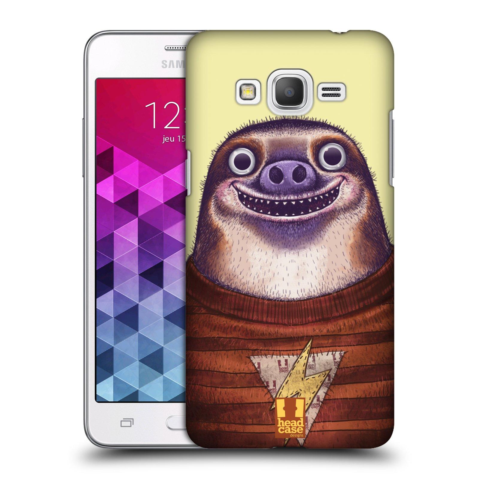 Plastové pouzdro na mobil Samsung Galaxy Grand Prime VE HEAD CASE ANIMPLA LENOCHOD