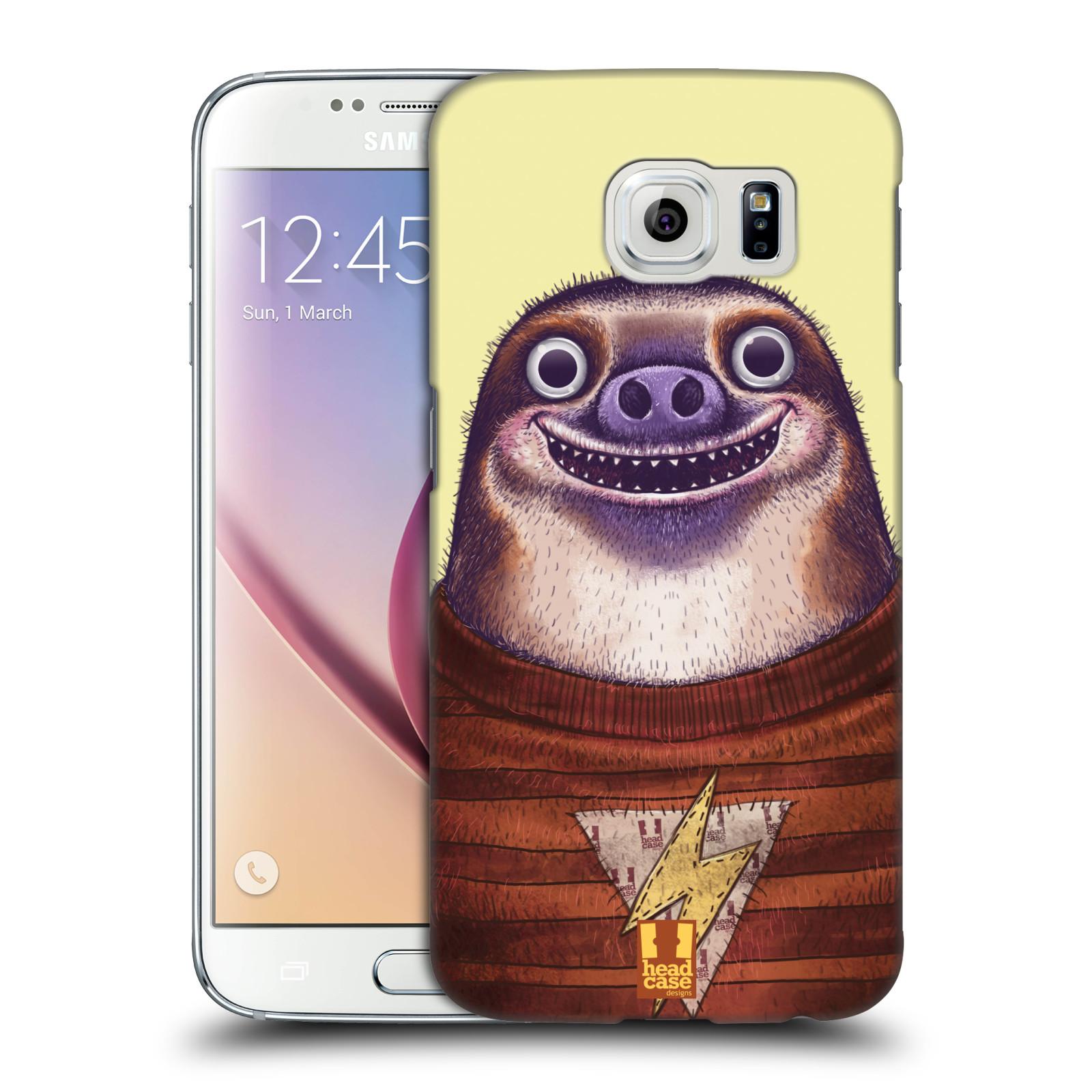 Plastové pouzdro na mobil Samsung Galaxy S6 HEAD CASE ANIMPLA LENOCHOD