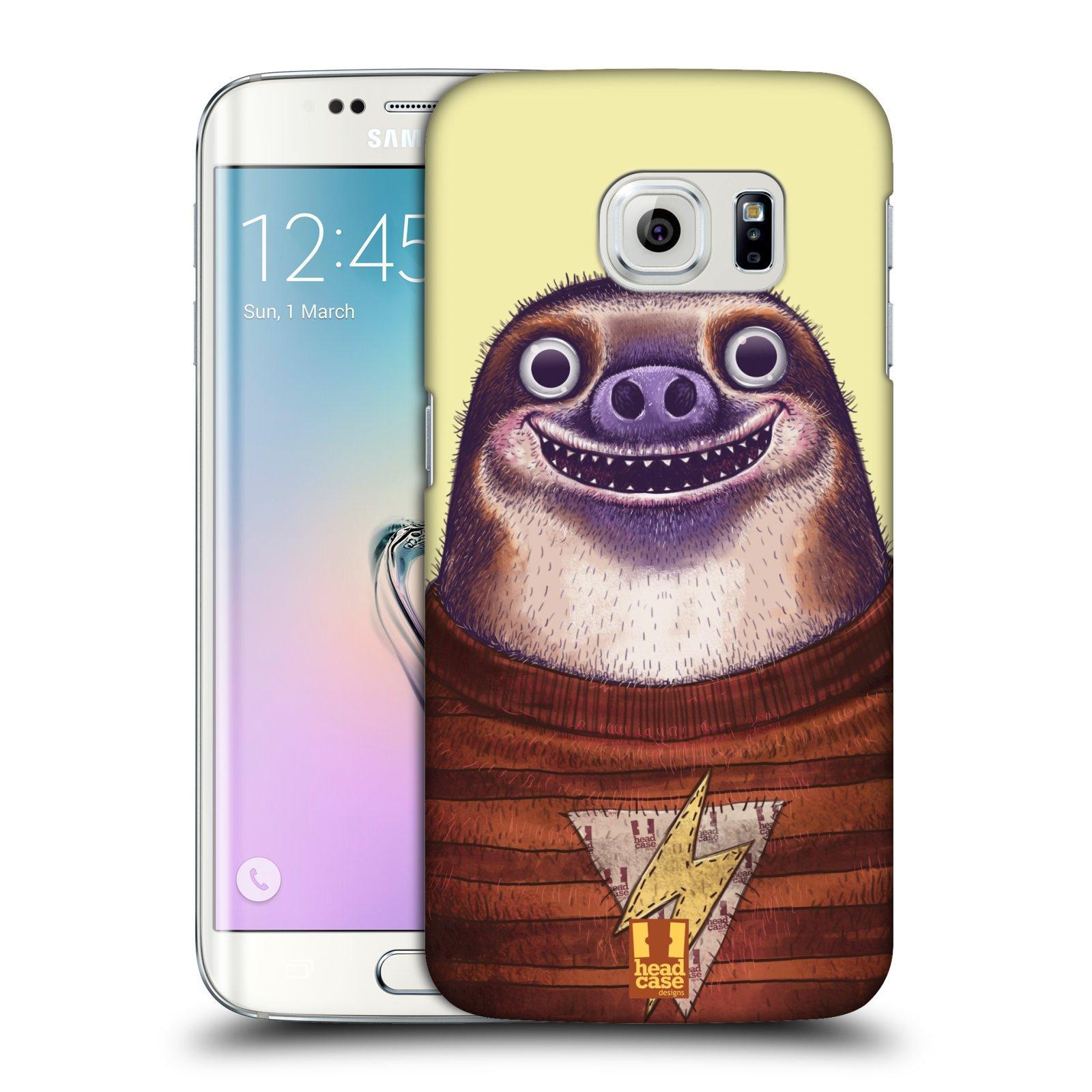 Plastové pouzdro na mobil Samsung Galaxy S6 Edge HEAD CASE ANIMPLA LENOCHOD