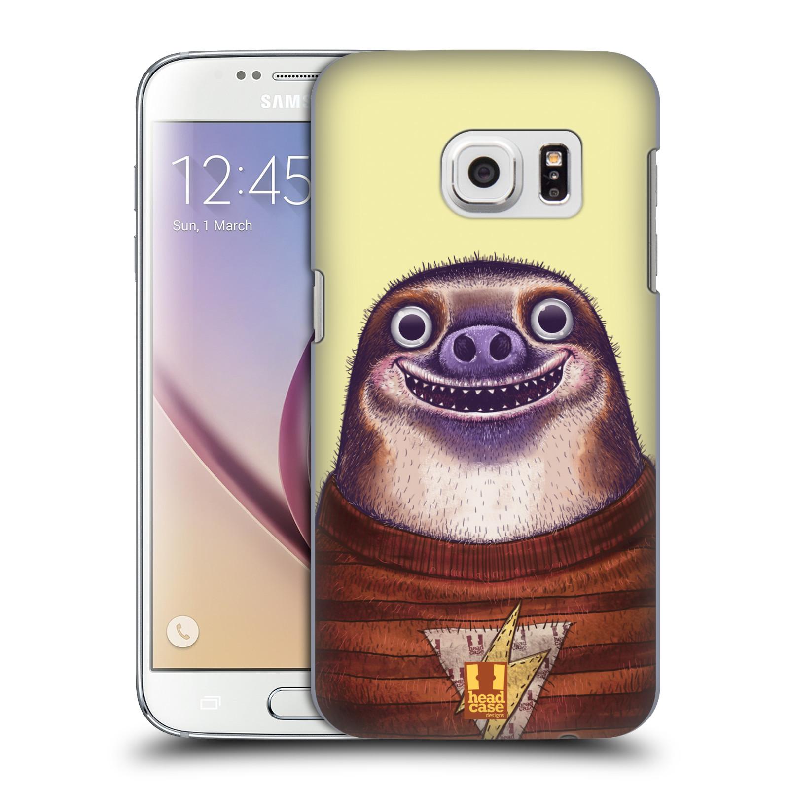 Plastové pouzdro na mobil Samsung Galaxy S7 HEAD CASE ANIMPLA LENOCHOD (Kryt či obal na mobilní telefon Samsung Galaxy S7 SM-G930F)