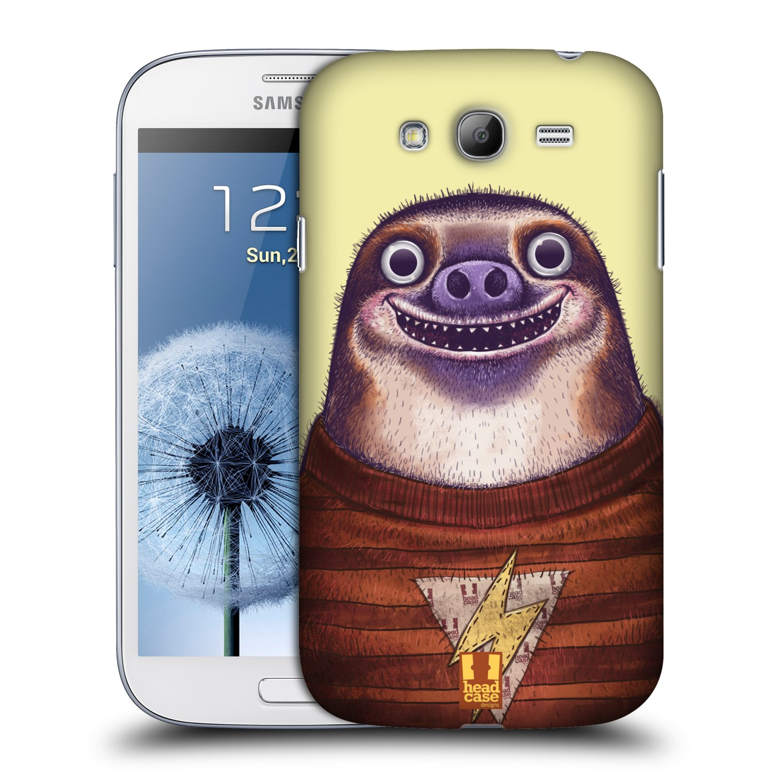 Plastové pouzdro na mobil Samsung Galaxy Grand Neo Plus HEAD CASE ANIMPLA LENOCHOD