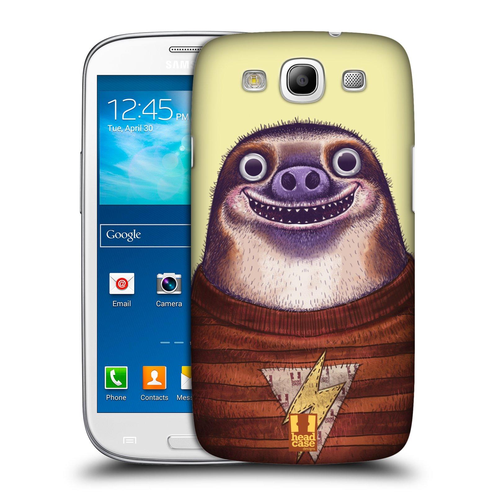 Plastové pouzdro na mobil Samsung Galaxy S III HEAD CASE ANIMPLA LENOCHOD