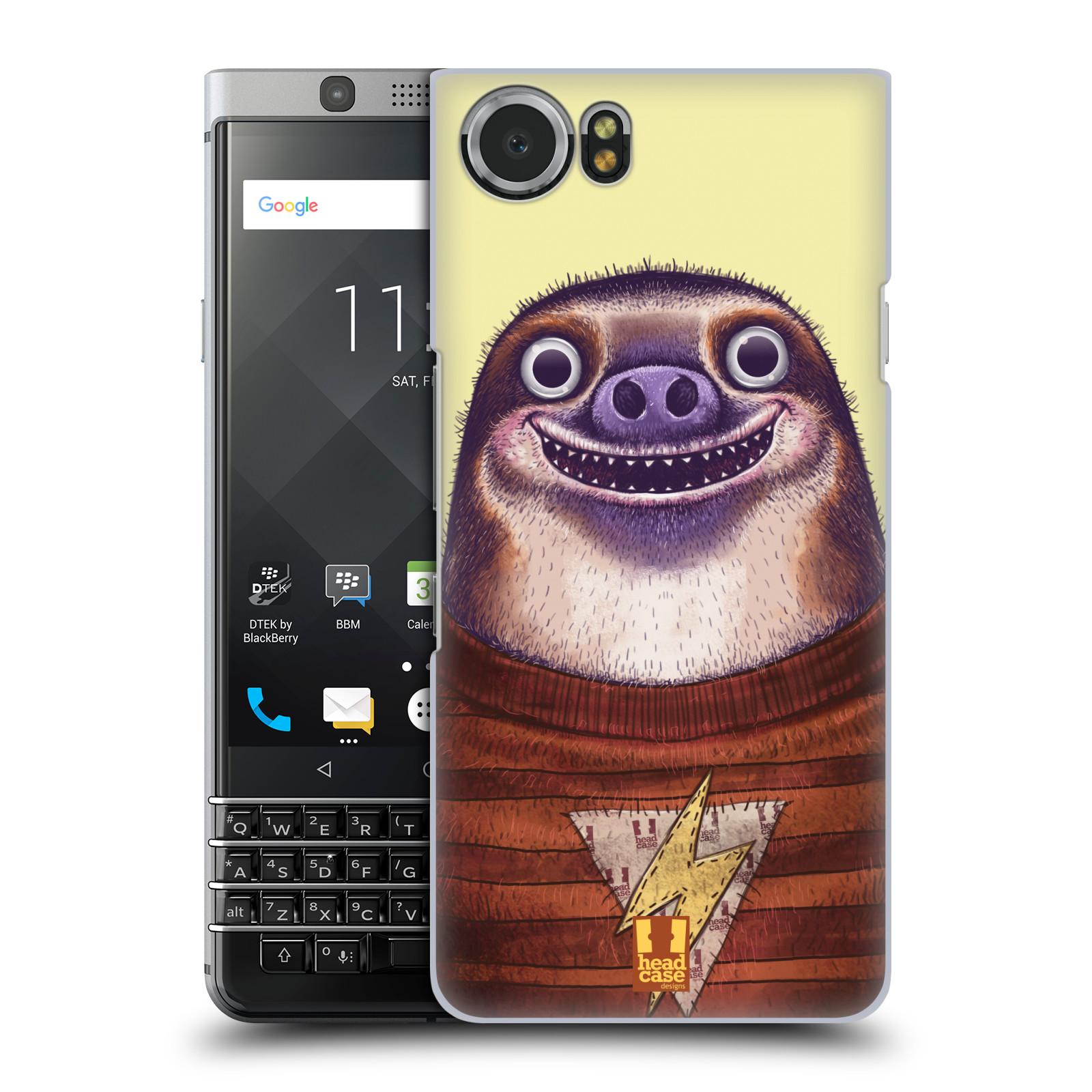 Plastové pouzdro na mobil BlackBerry KEYone - Head Case - ANIMPLA LENOCHOD