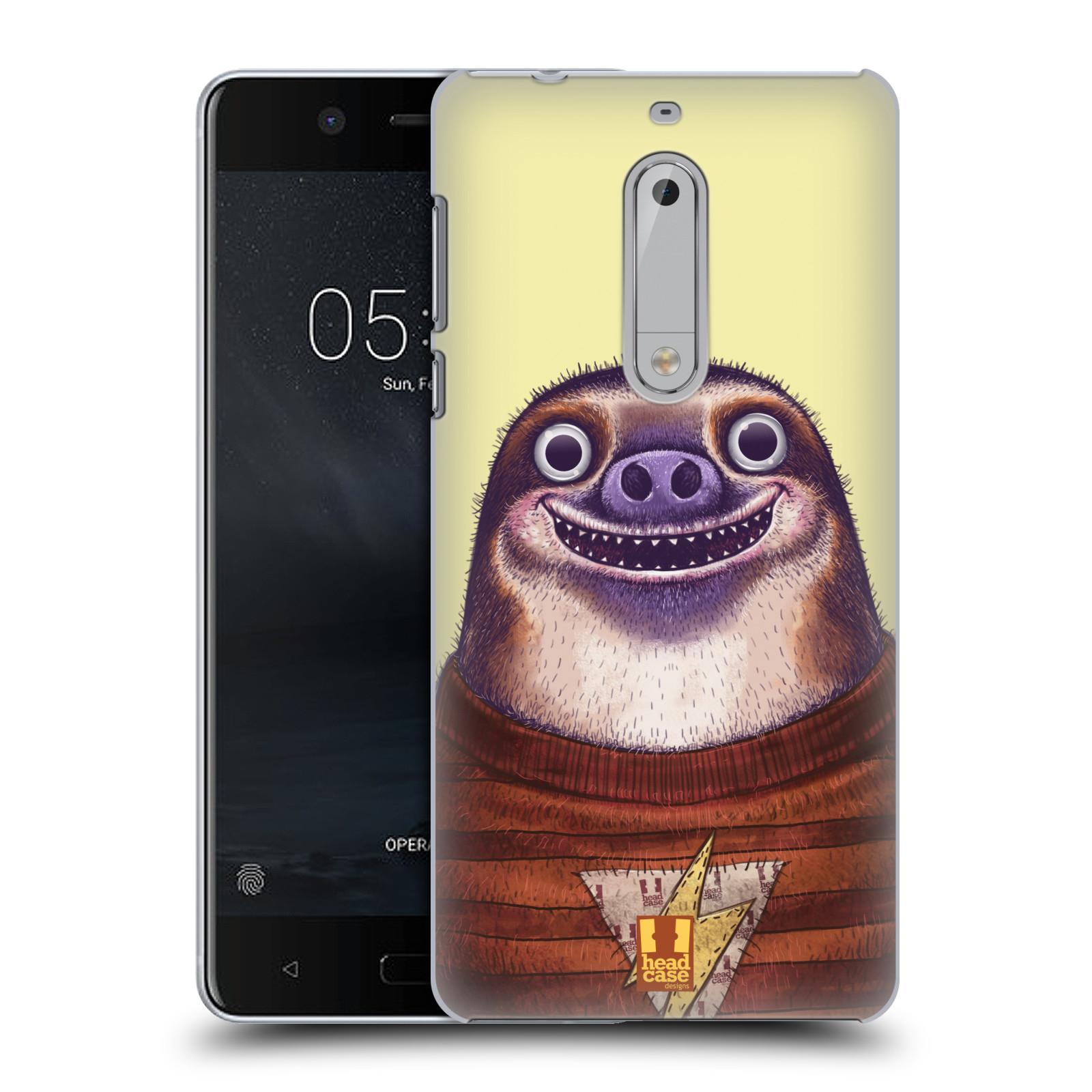 Plastové pouzdro na mobil Nokia 5 Head Case - ANIMPLA LENOCHOD