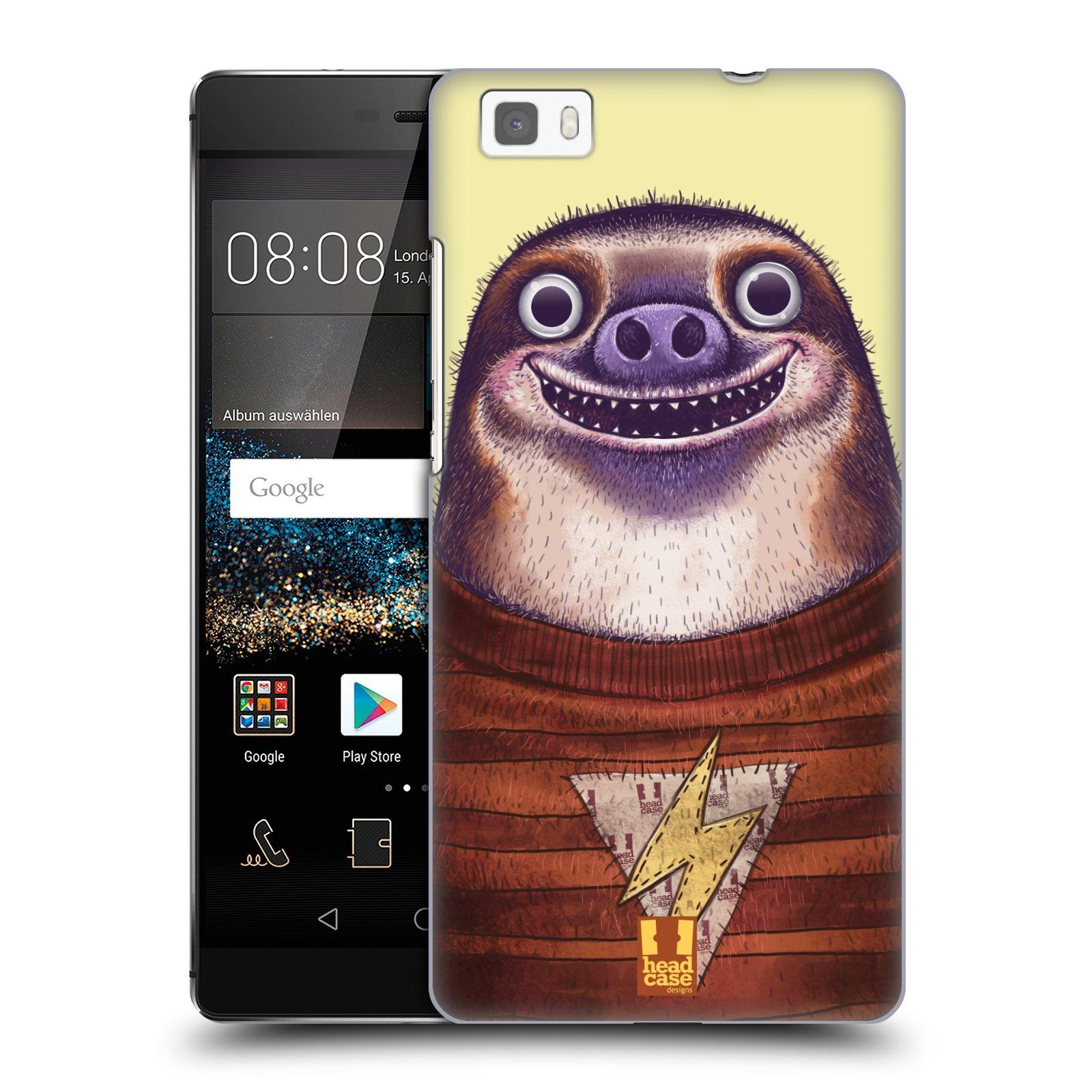 Plastové pouzdro na mobil Huawei P8 Lite HEAD CASE ANIMPLA LENOCHOD
