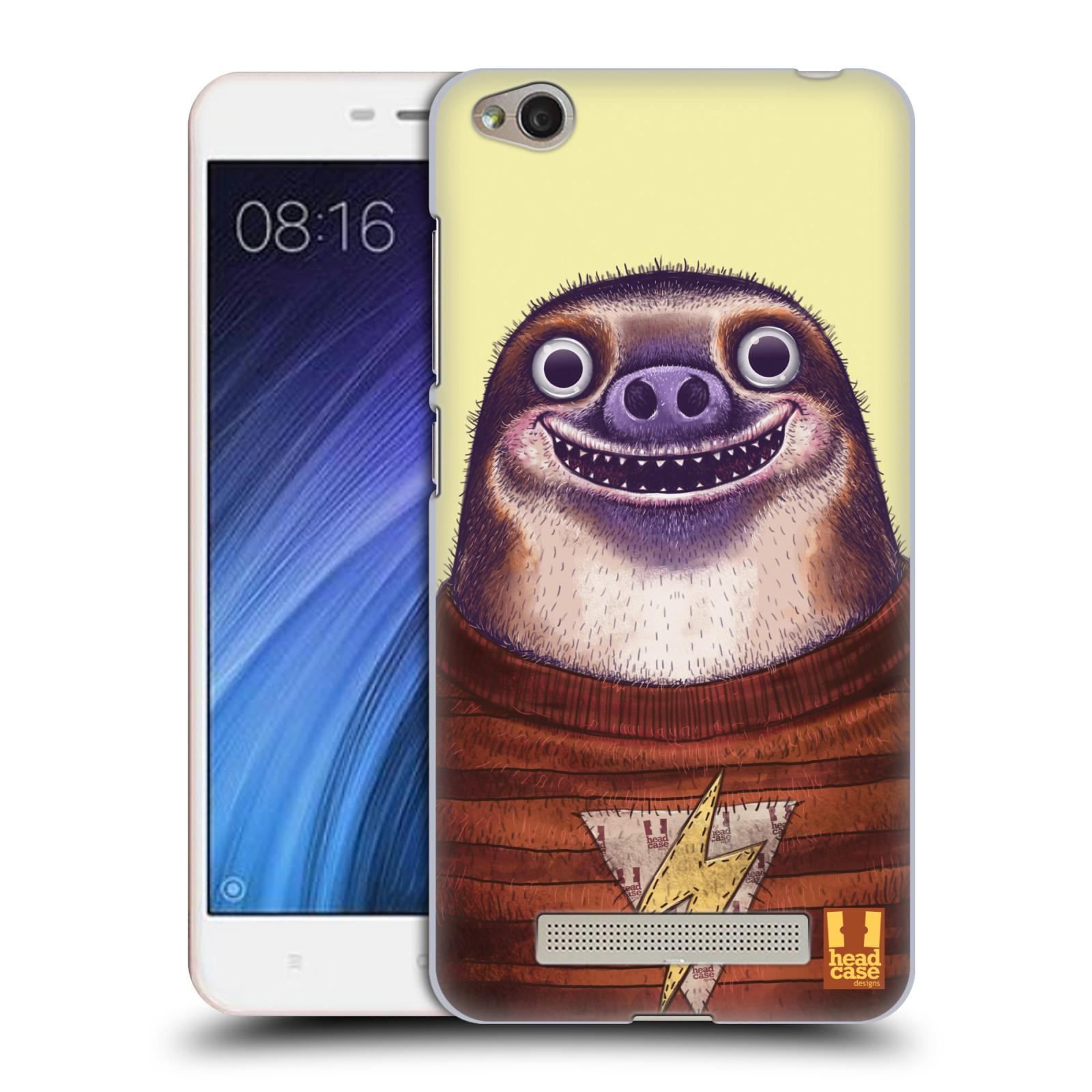 Plastové pouzdro na mobil Xiaomi Redmi 4A HEAD CASE ANIMPLA LENOCHOD