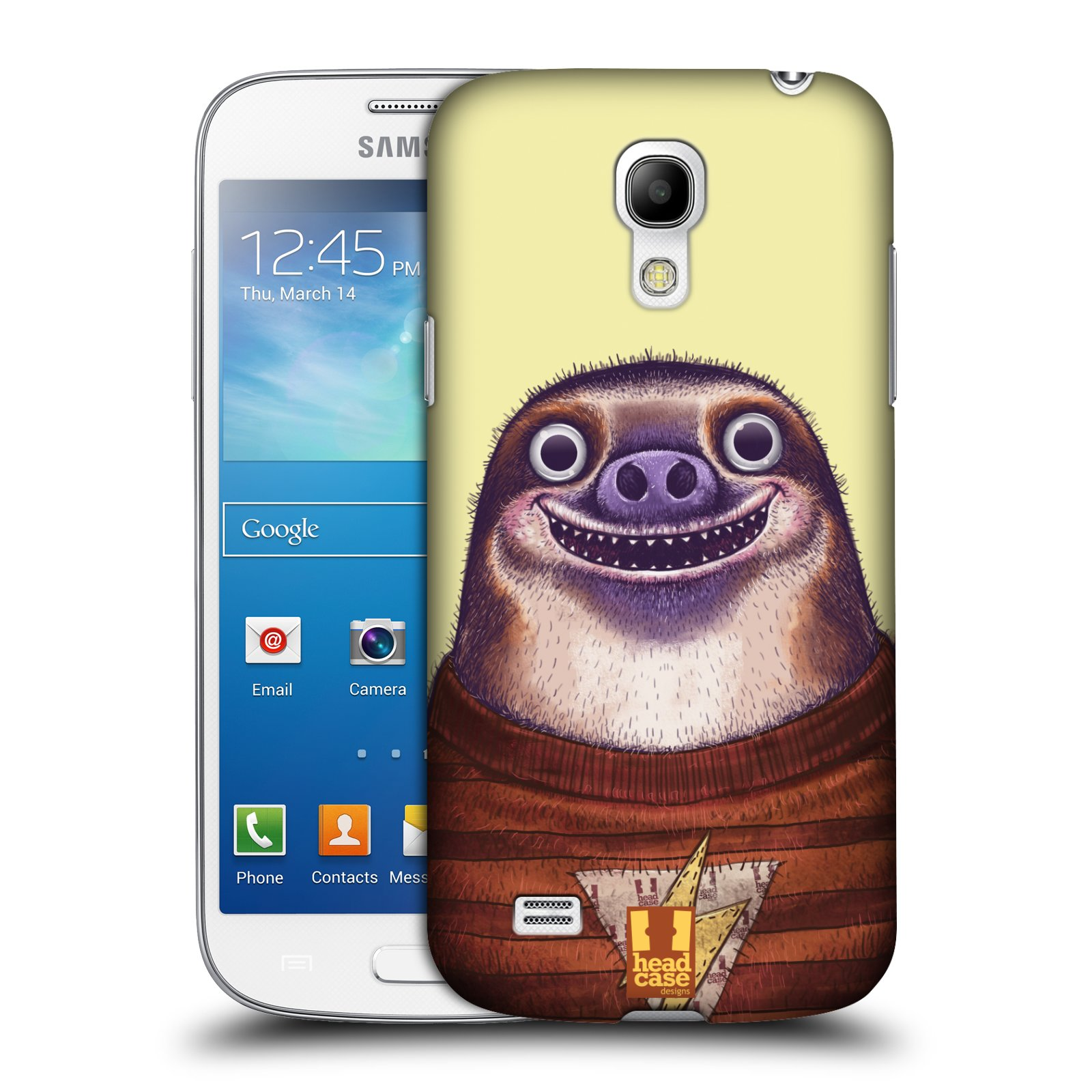Plastové pouzdro na mobil Samsung Galaxy S4 Mini VE HEAD CASE ANIMPLA LENOCHOD