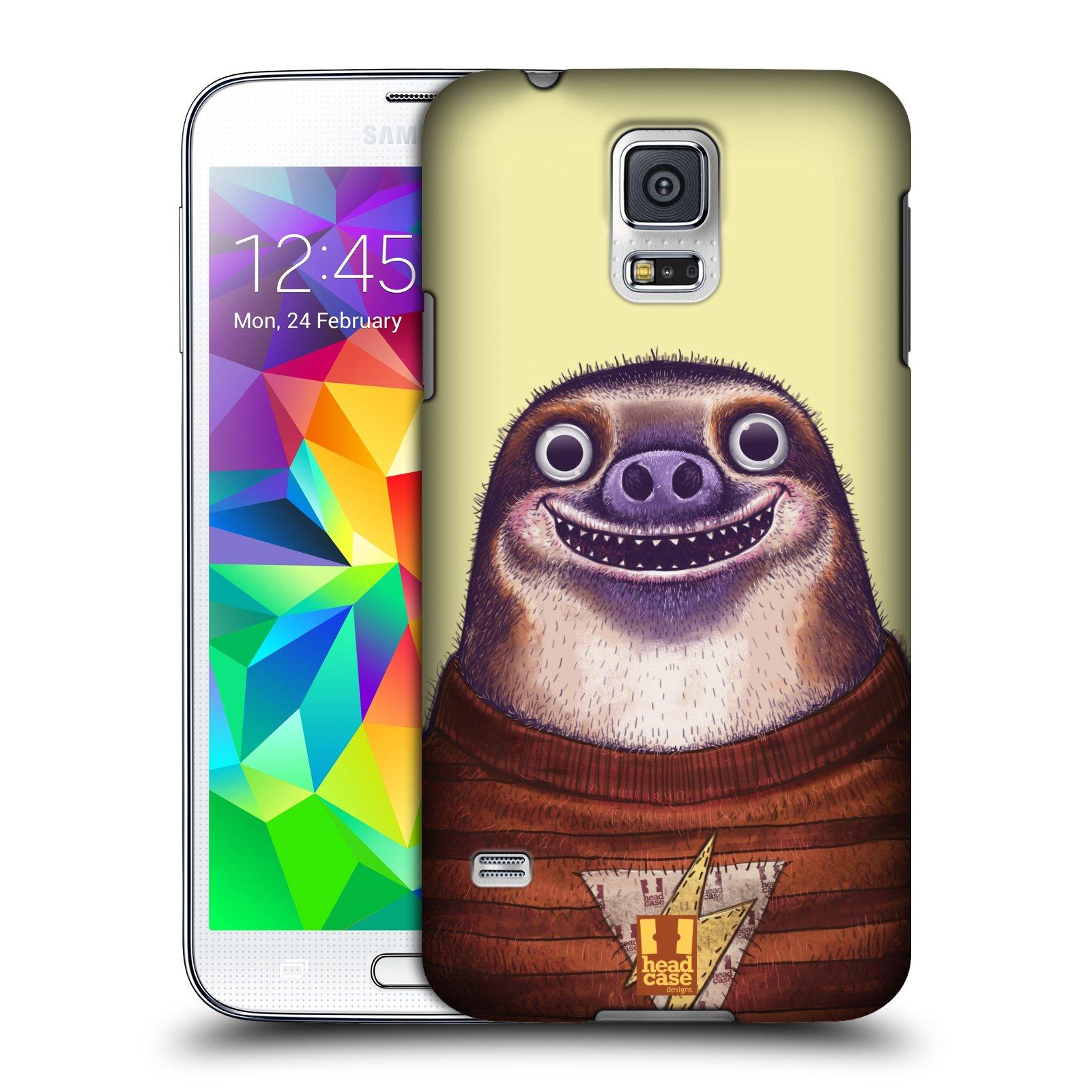 Plastové pouzdro na mobil Samsung Galaxy S5 HEAD CASE ANIMPLA LENOCHOD
