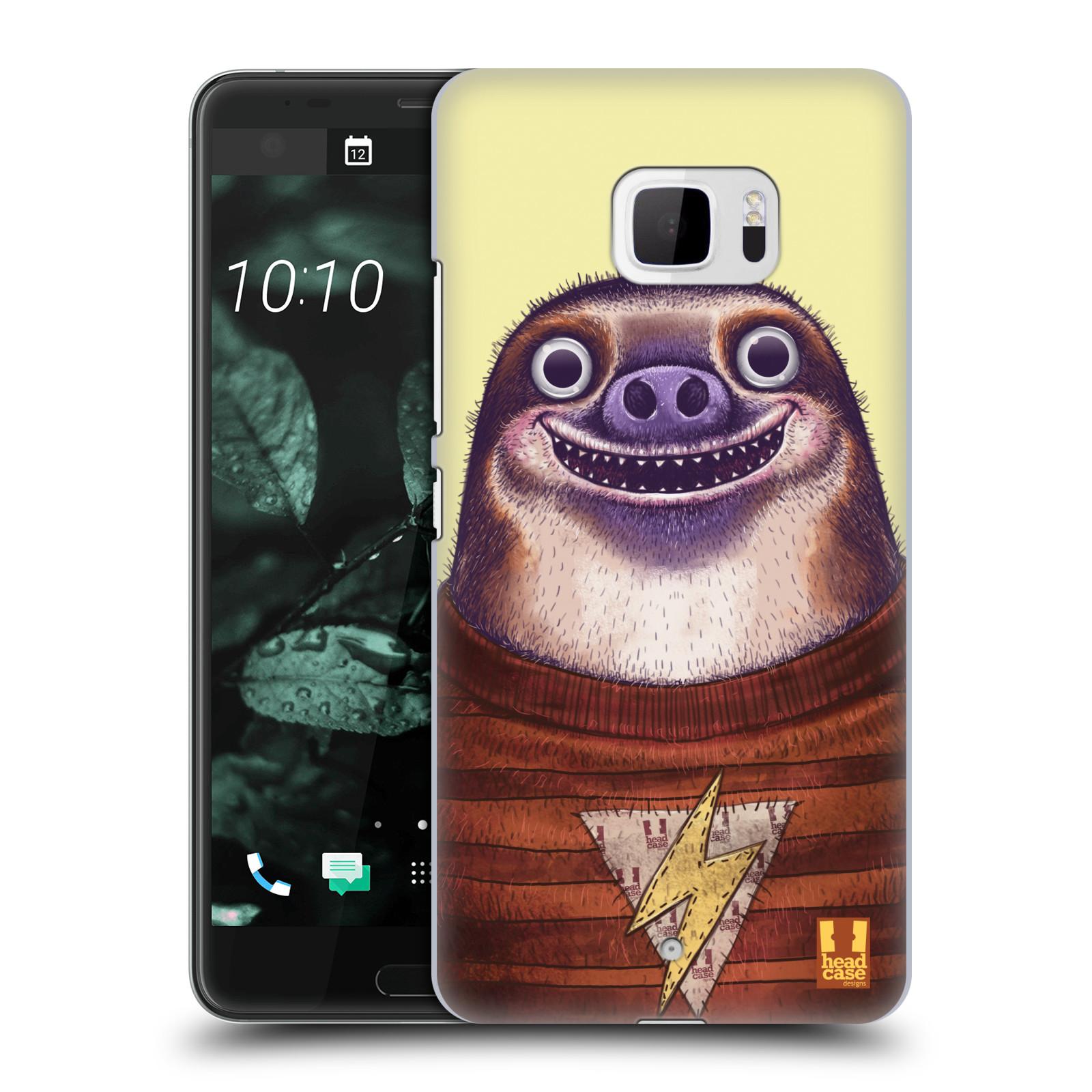 Plastové pouzdro na mobil HTC U Ultra Head Case - ANIMPLA LENOCHOD (Plastový kryt či obal na mobilní telefon HTC U Ultra (99HALT015-00))