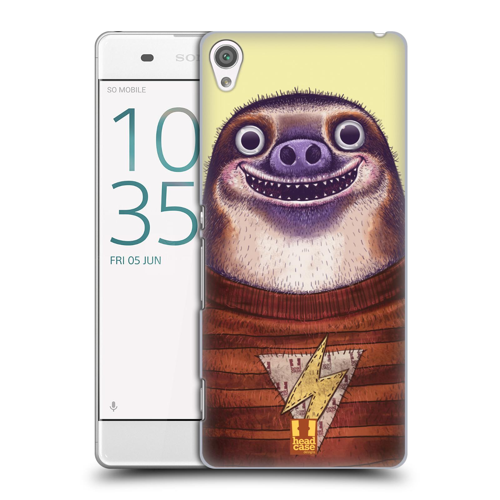Plastové pouzdro na mobil Sony Xperia XA HEAD CASE ANIMPLA LENOCHOD