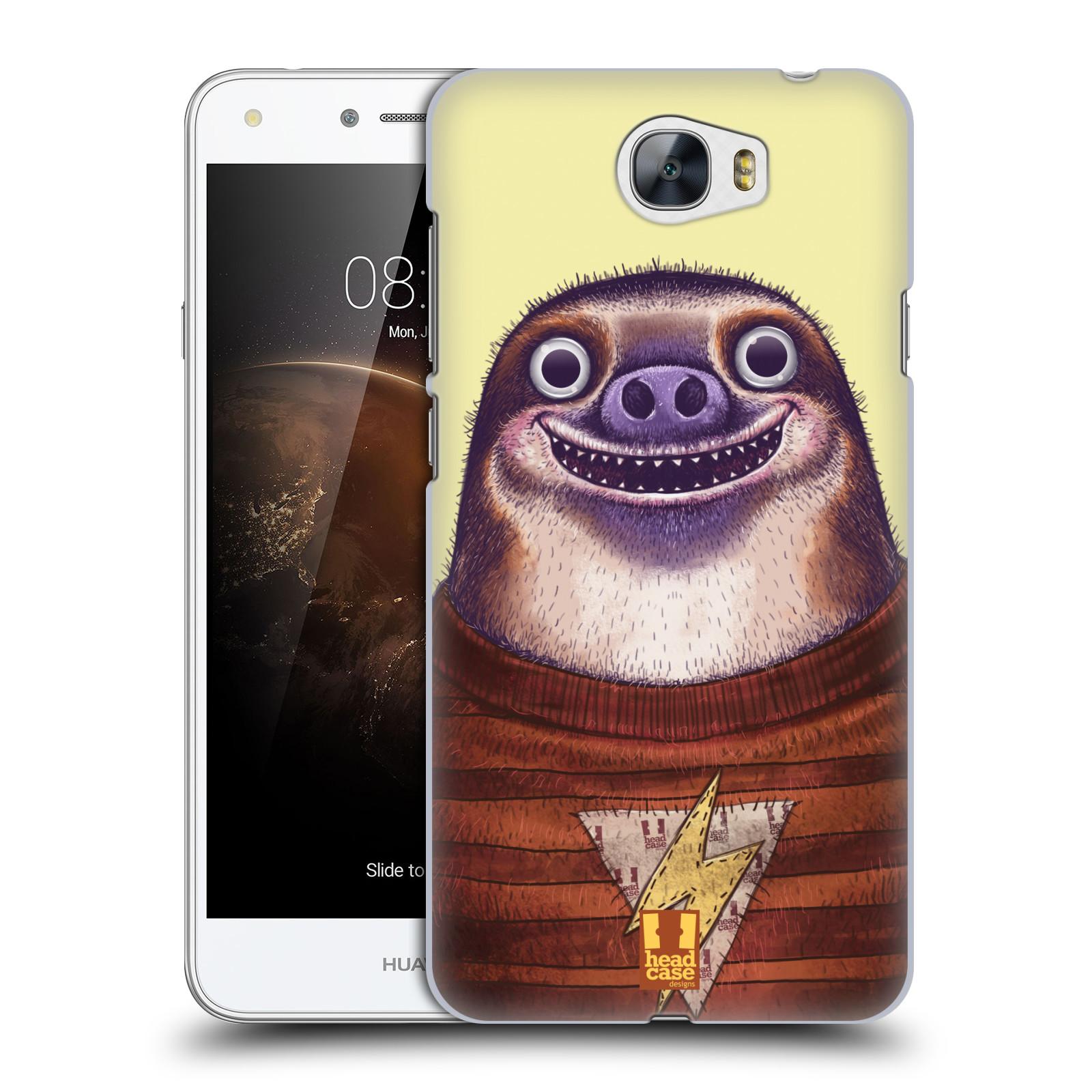 Plastové pouzdro na mobil Huawei Y5 II HEAD CASE ANIMPLA LENOCHOD