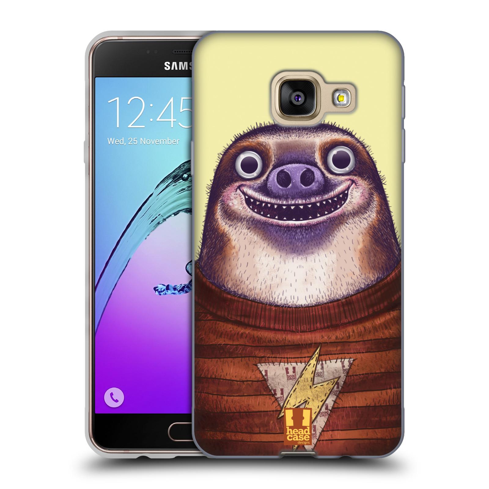 Silikonové pouzdro na mobil Samsung Galaxy A3 (2016) HEAD CASE ANIMPLA LENOCHOD