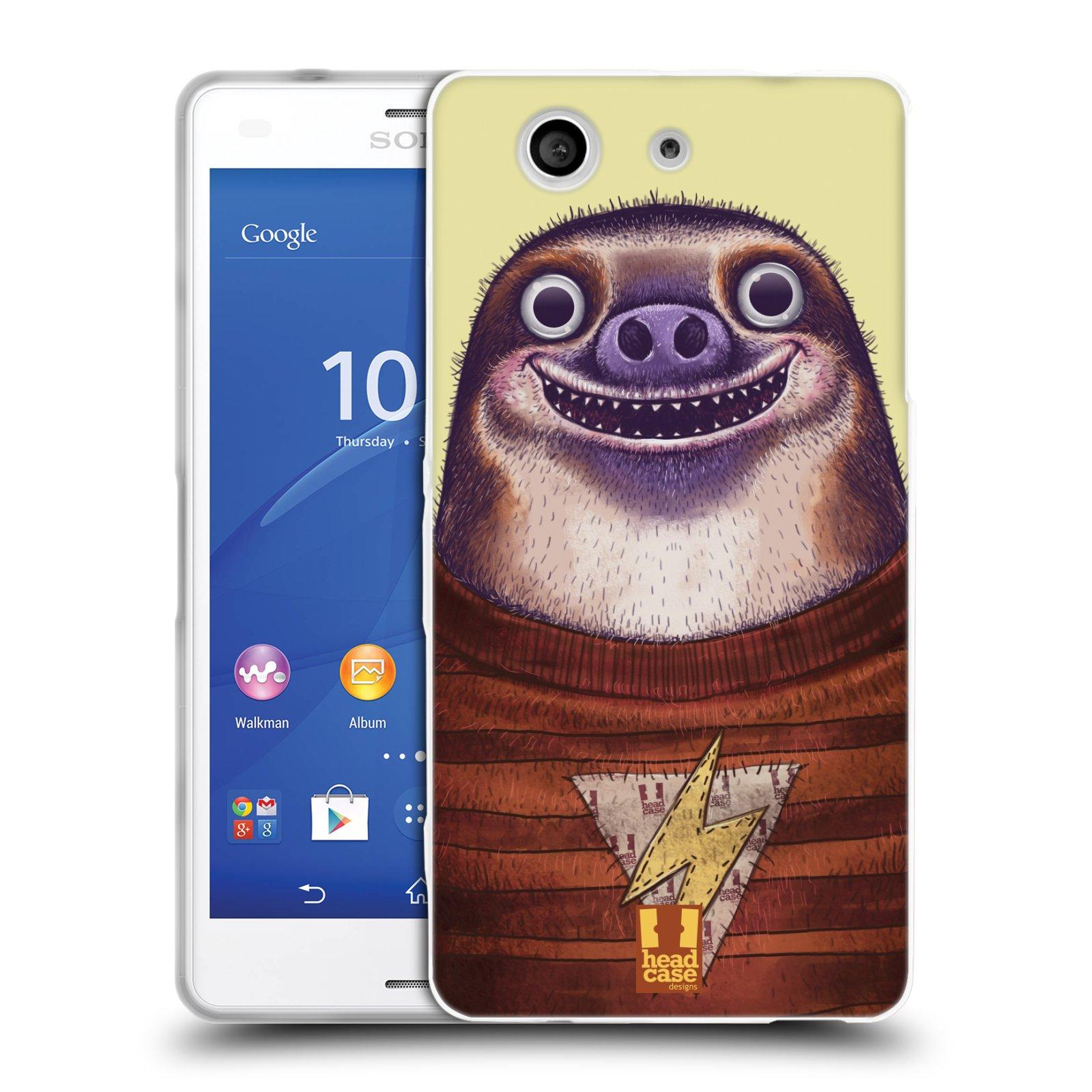 Silikonové pouzdro na mobil Sony Xperia Z3 Compact D5803 HEAD CASE ANIMPLA LENOCHOD