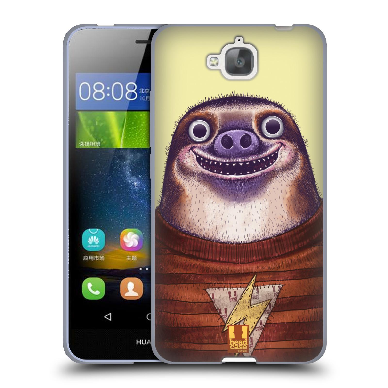 Silikonové pouzdro na mobil Huawei Y6 Pro Dual Sim HEAD CASE ANIMPLA LENOCHOD