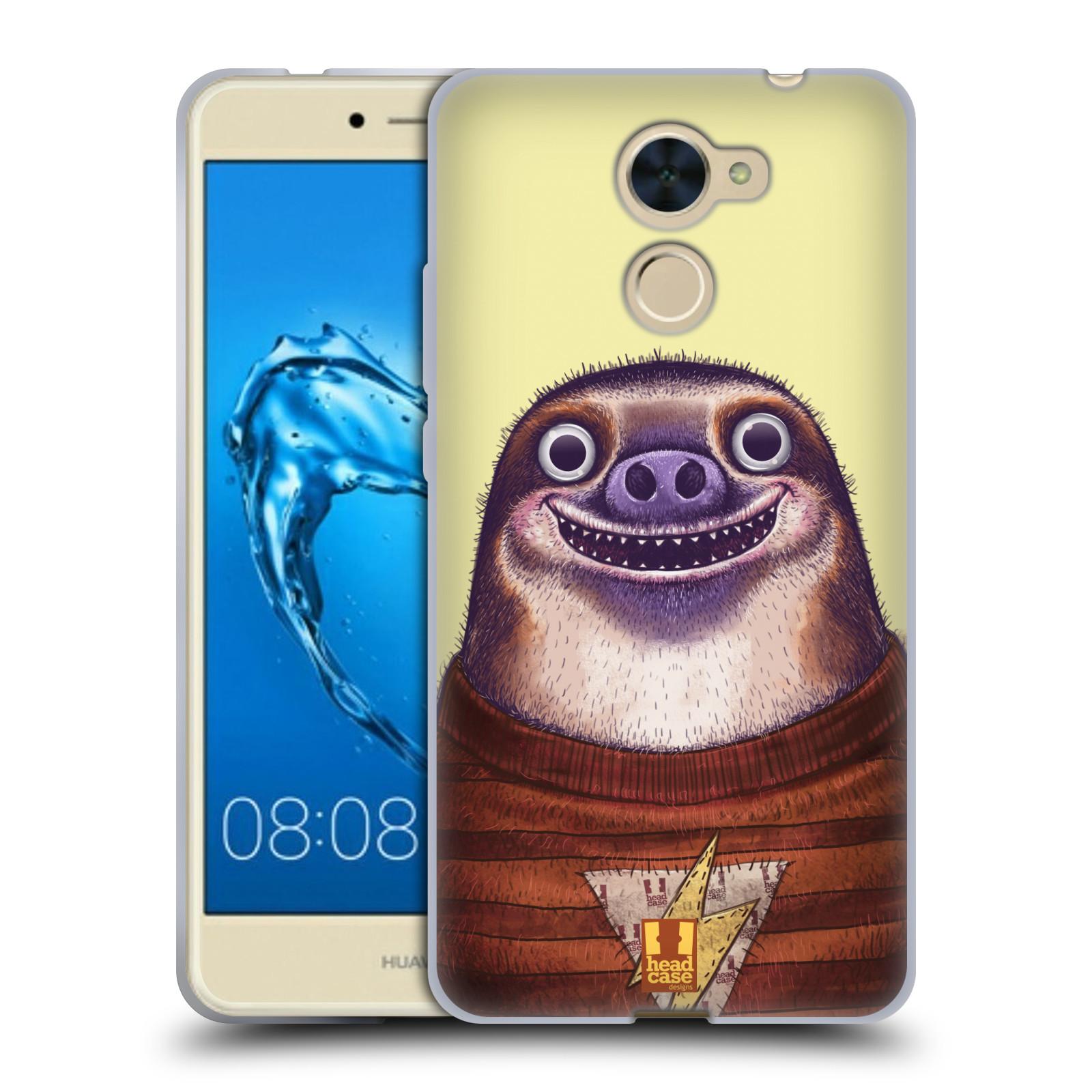 Silikonové pouzdro na mobil Huawei Y7 - Head Case - ANIMPLA LENOCHOD