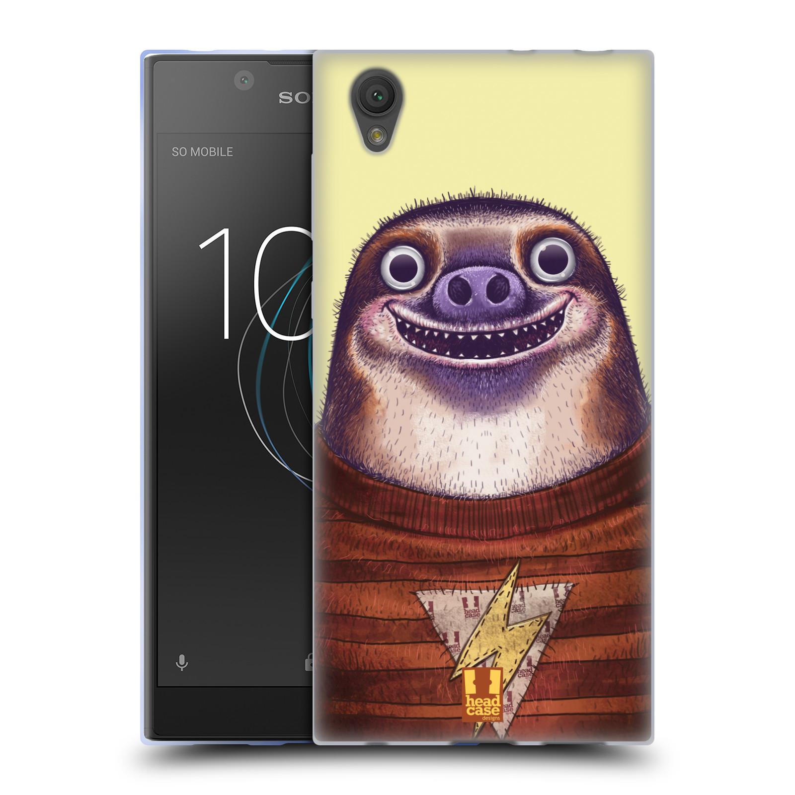 Silikonové pouzdro na mobil Sony Xperia L1 - Head Case - ANIMPLA LENOCHOD