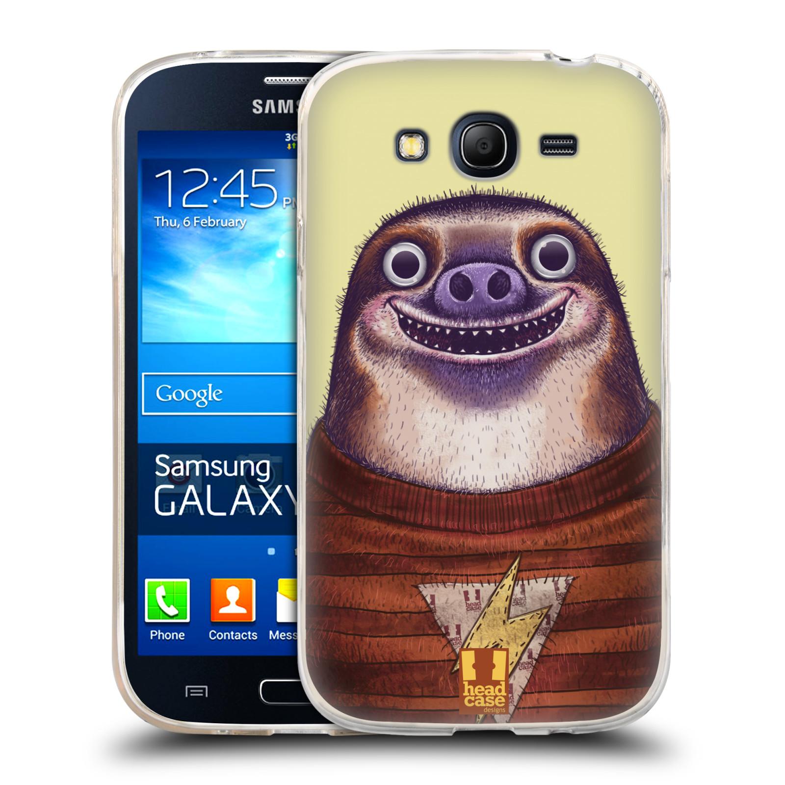 Silikonové pouzdro na mobil Samsung Galaxy Grand Neo Plus HEAD CASE ANIMPLA LENOCHOD