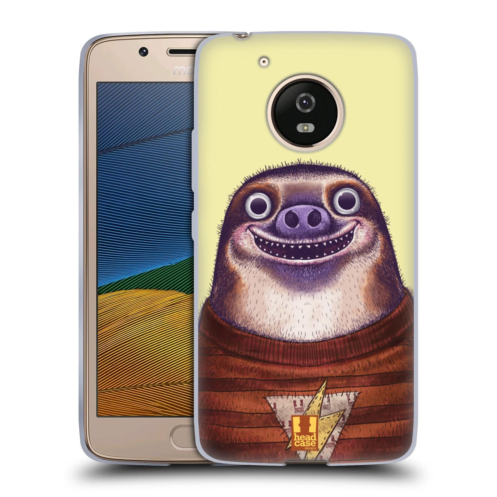 Silikonové pouzdro na mobil Lenovo Moto G5 - Head Case ANIMPLA LENOCHOD