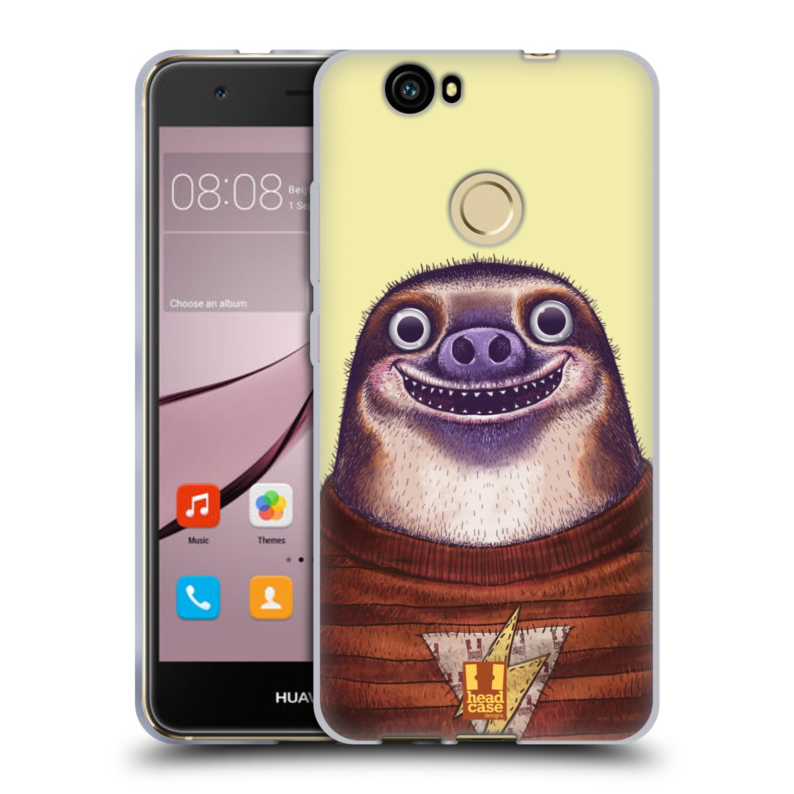 Silikonové pouzdro na mobil Huawei Nova - Head Case - ANIMPLA LENOCHOD