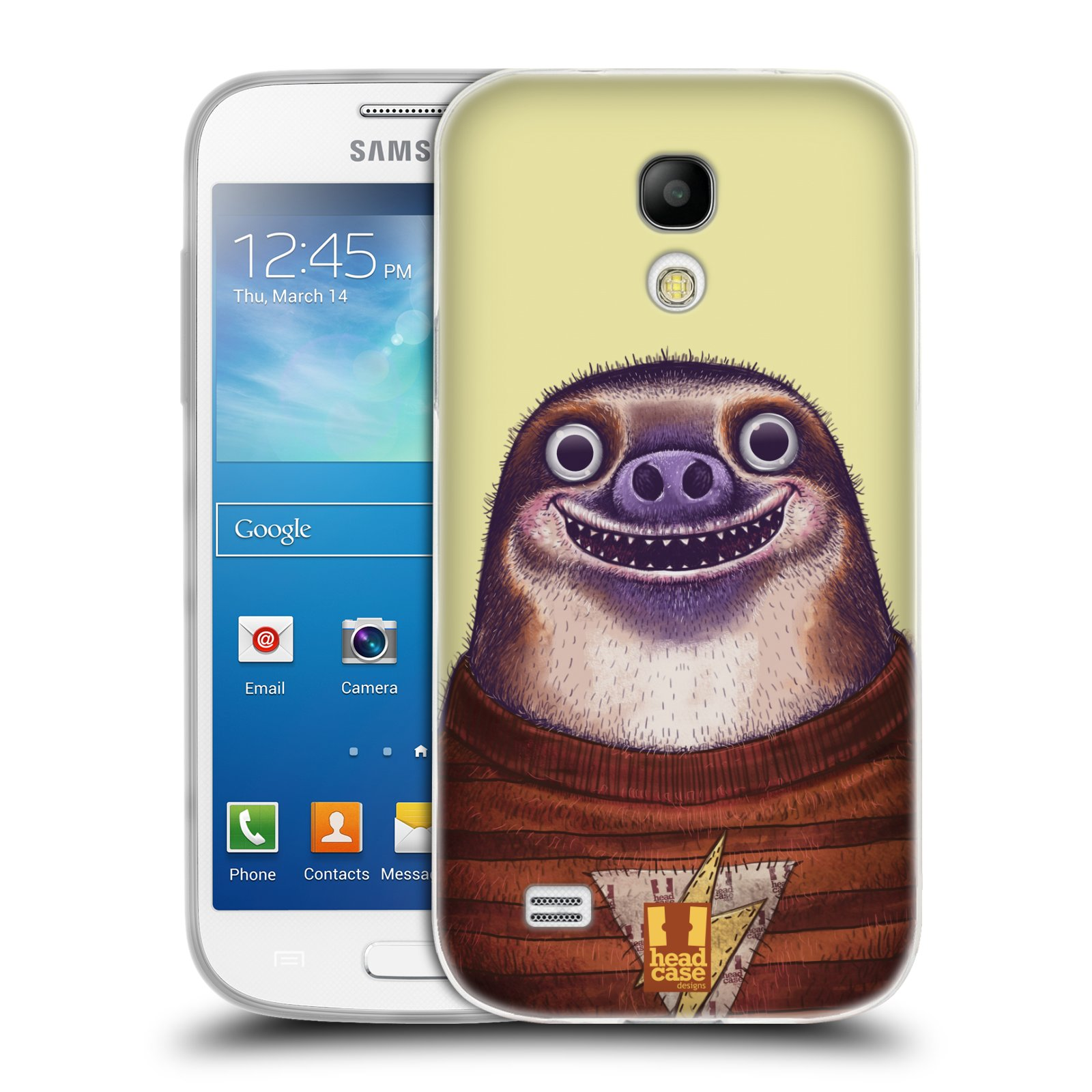 Silikonové pouzdro na mobil Samsung Galaxy S4 Mini HEAD CASE ANIMPLA LENOCHOD