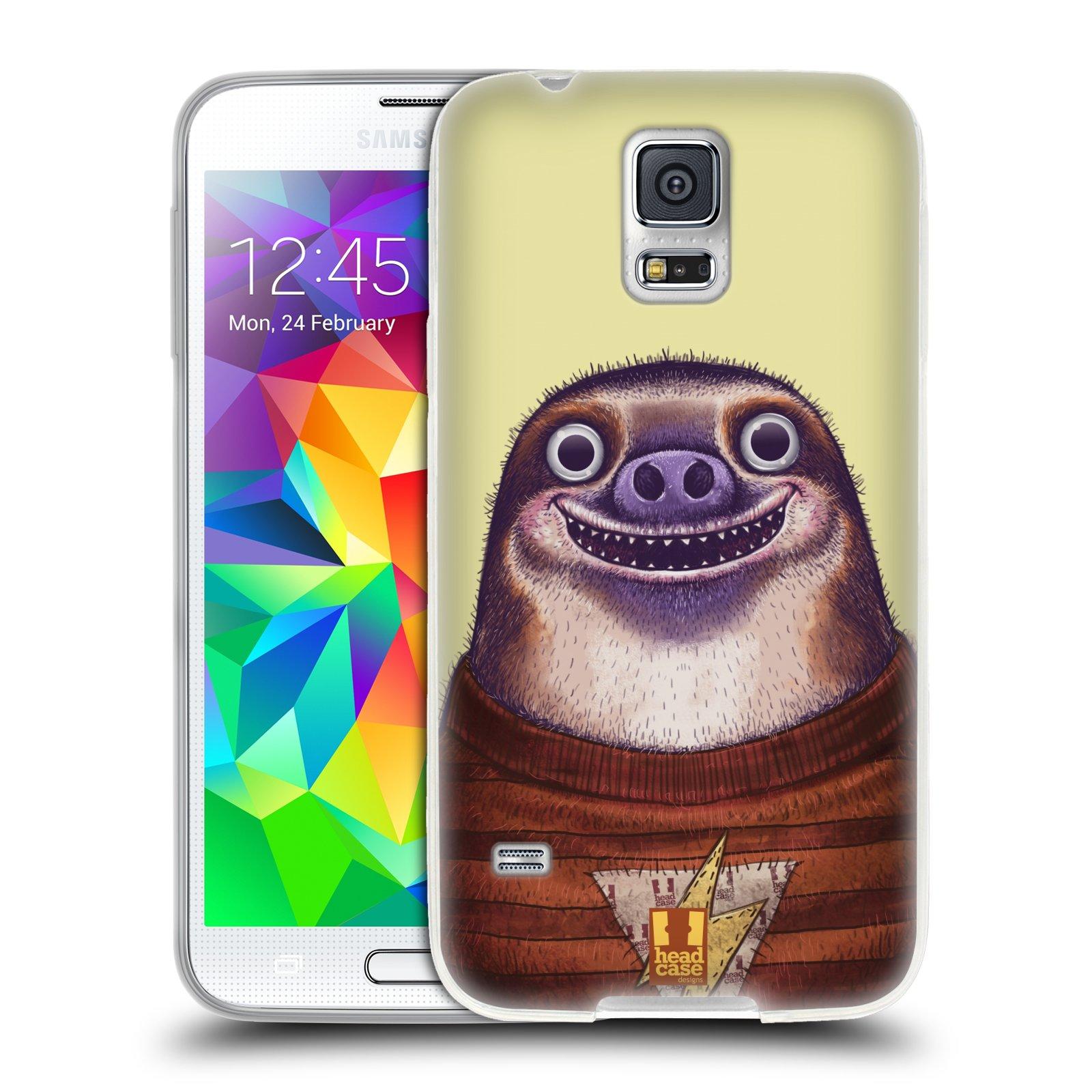 Silikonové pouzdro na mobil Samsung Galaxy S5 HEAD CASE ANIMPLA LENOCHOD