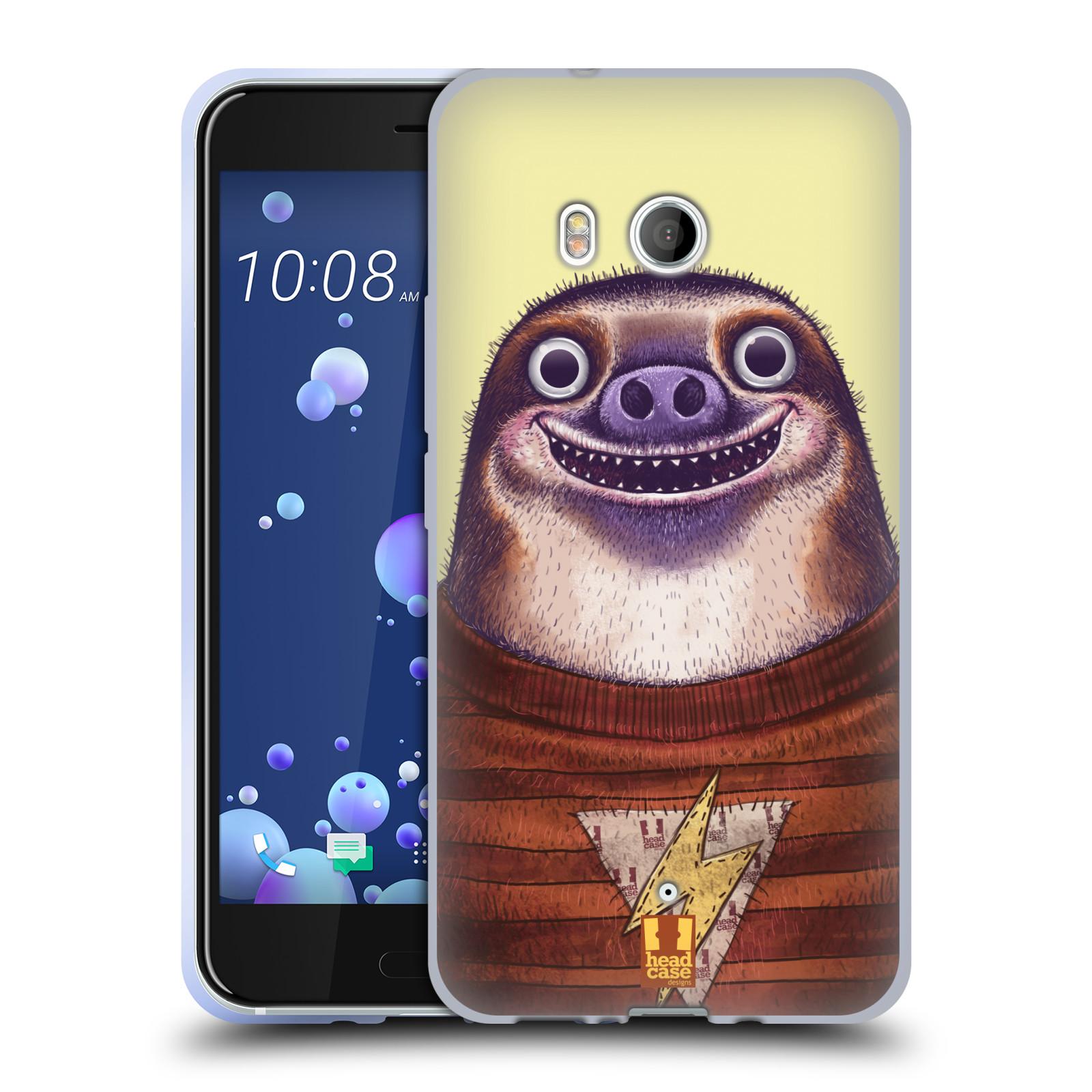 Silikonové pouzdro na mobil HTC U11 - Head Case - ANIMPLA LENOCHOD