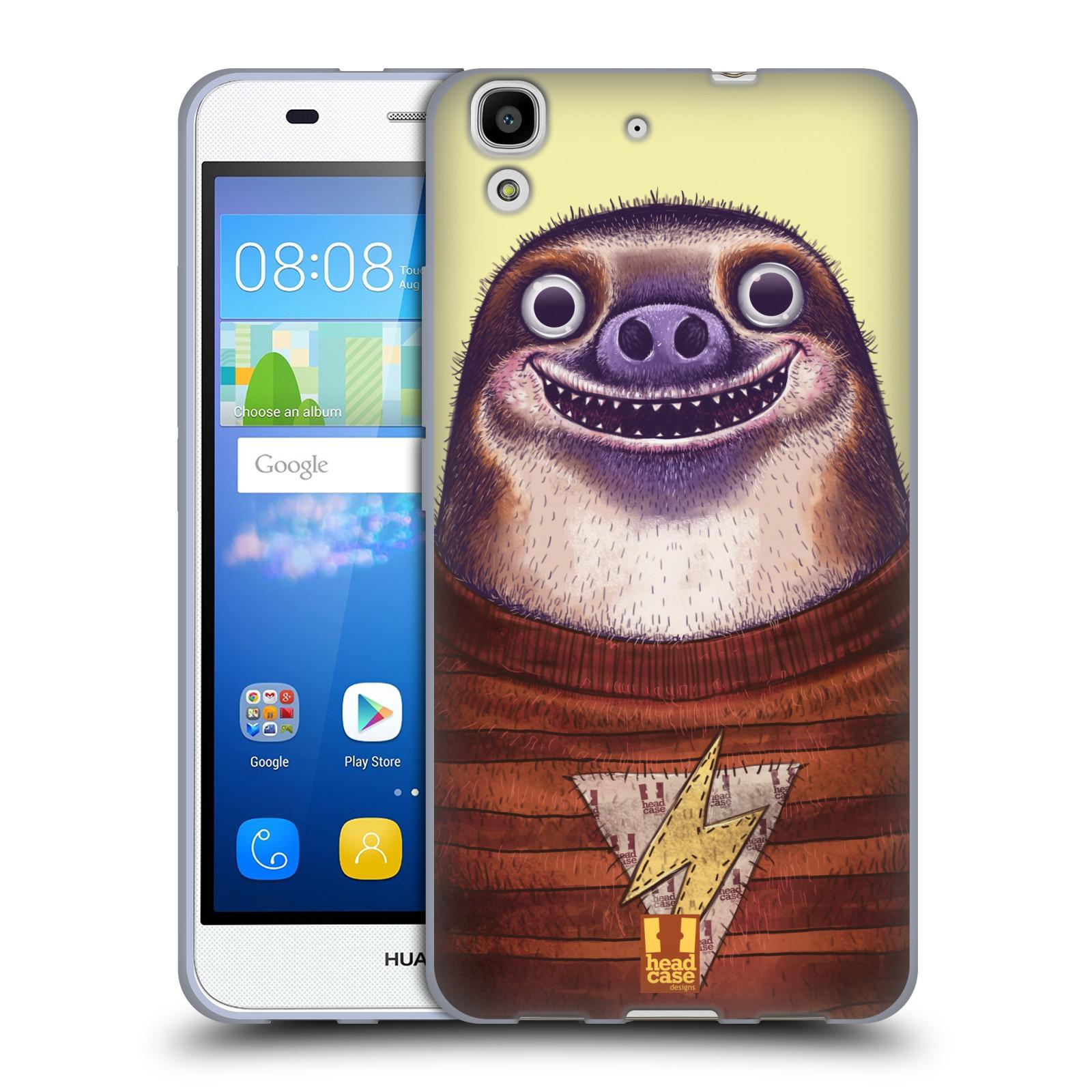 Silikonové pouzdro na mobil Huawei Y6 HEAD CASE ANIMPLA LENOCHOD
