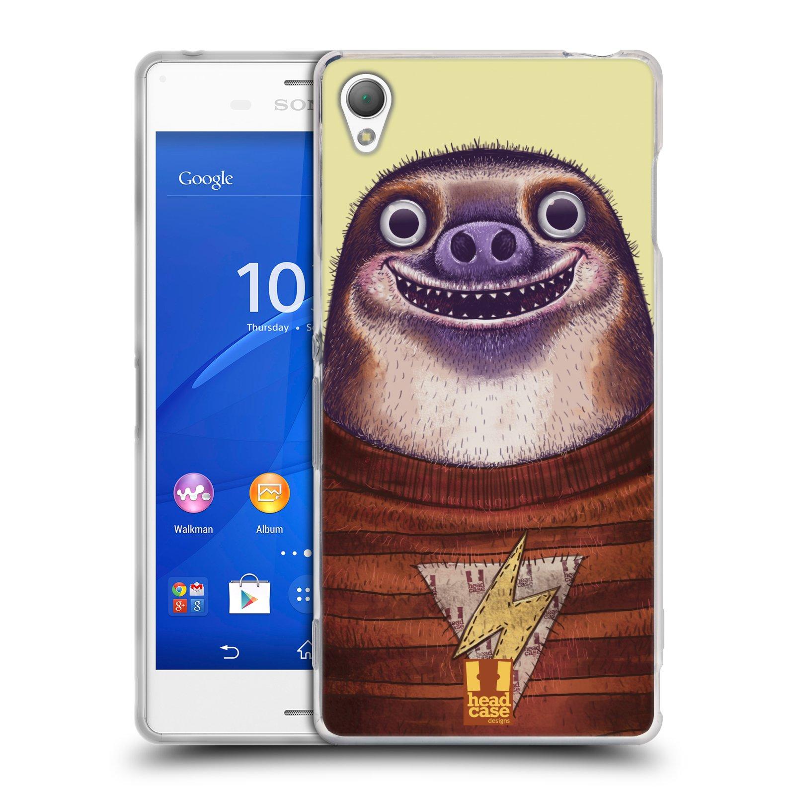 Silikonové pouzdro na mobil Sony Xperia Z3 D6603 HEAD CASE ANIMPLA LENOCHOD