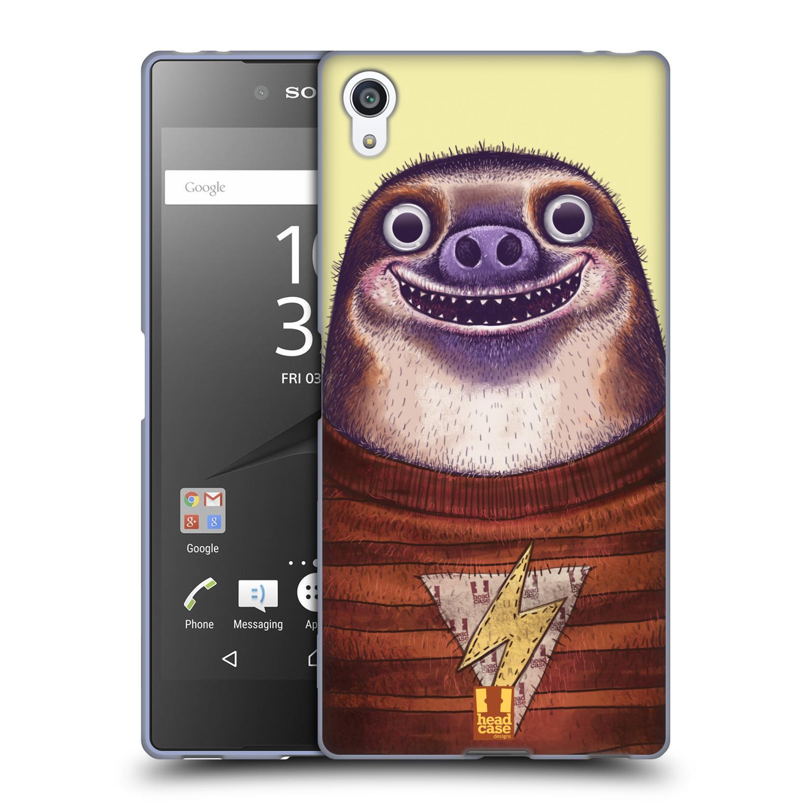 Silikonové pouzdro na mobil Sony Xperia Z5 Premium HEAD CASE ANIMPLA LENOCHOD