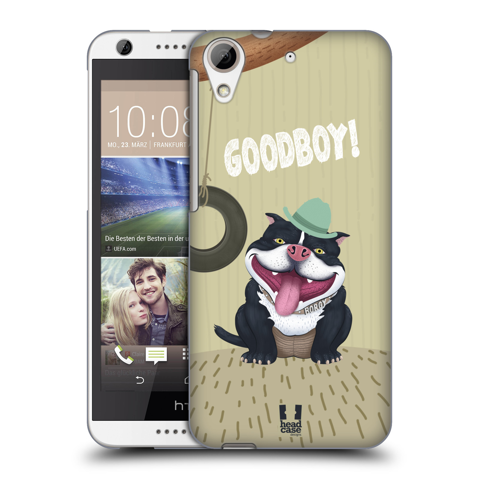 Plastové pouzdro na mobil HTC Desire 626 / 626G HEAD CASE Goodboy! Pejsek (Kryt či obal na mobilní telefon HTC Desire 626G Dual SIM a HTC Desire 626)