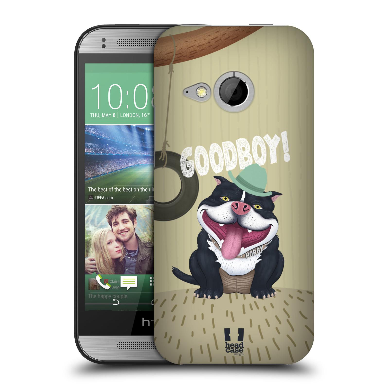 Plastové pouzdro na mobil HTC ONE Mini 2 HEAD CASE Goodboy! Pejsek (Kryt či obal na mobilní telefon HTC ONE Mini 2)