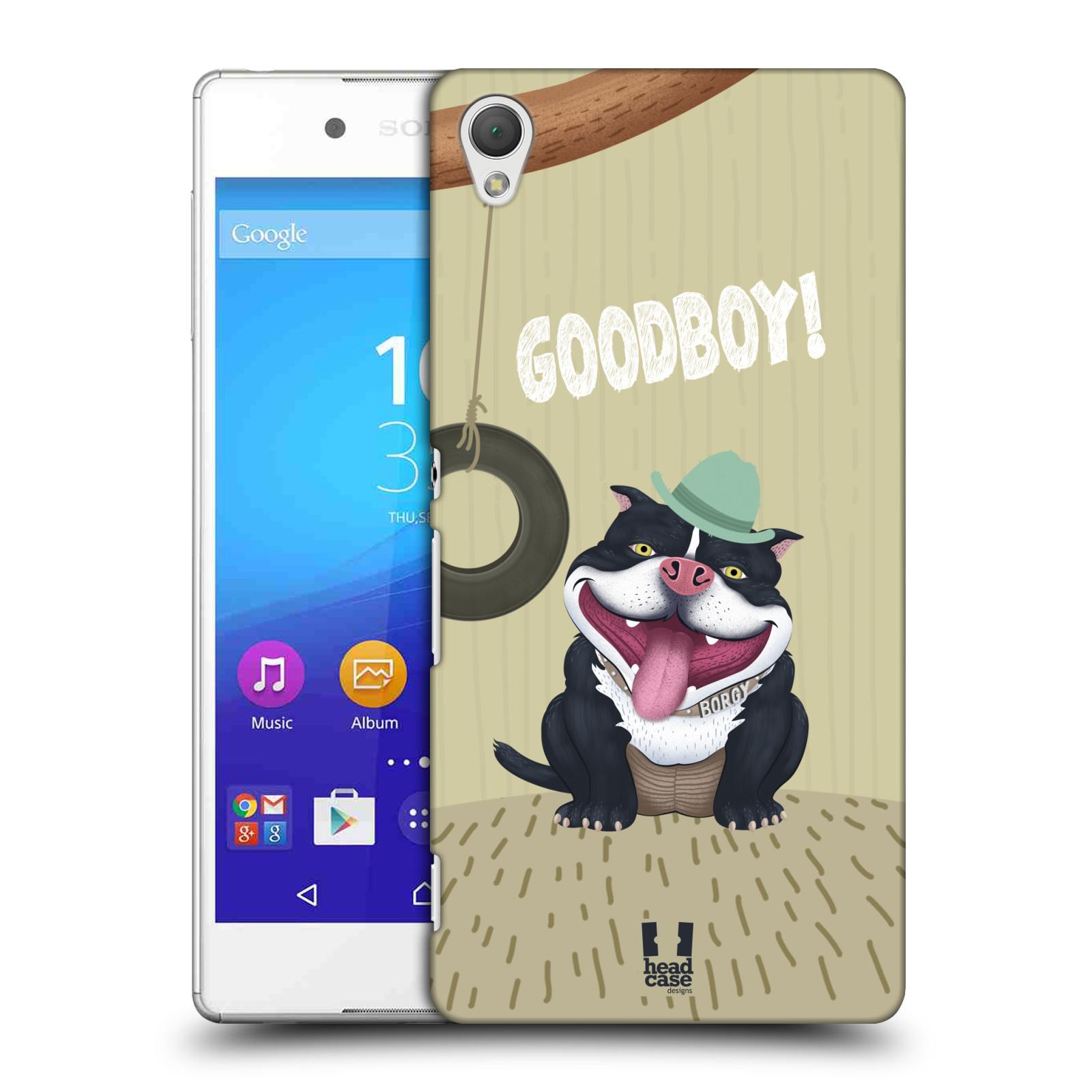 Plastové pouzdro na mobil Sony Xperia Z3+ (Plus) HEAD CASE Goodboy! Pejsek (Kryt či obal na mobilní telefon Sony Xperia Z3+ a Sony Xperia Z4 )