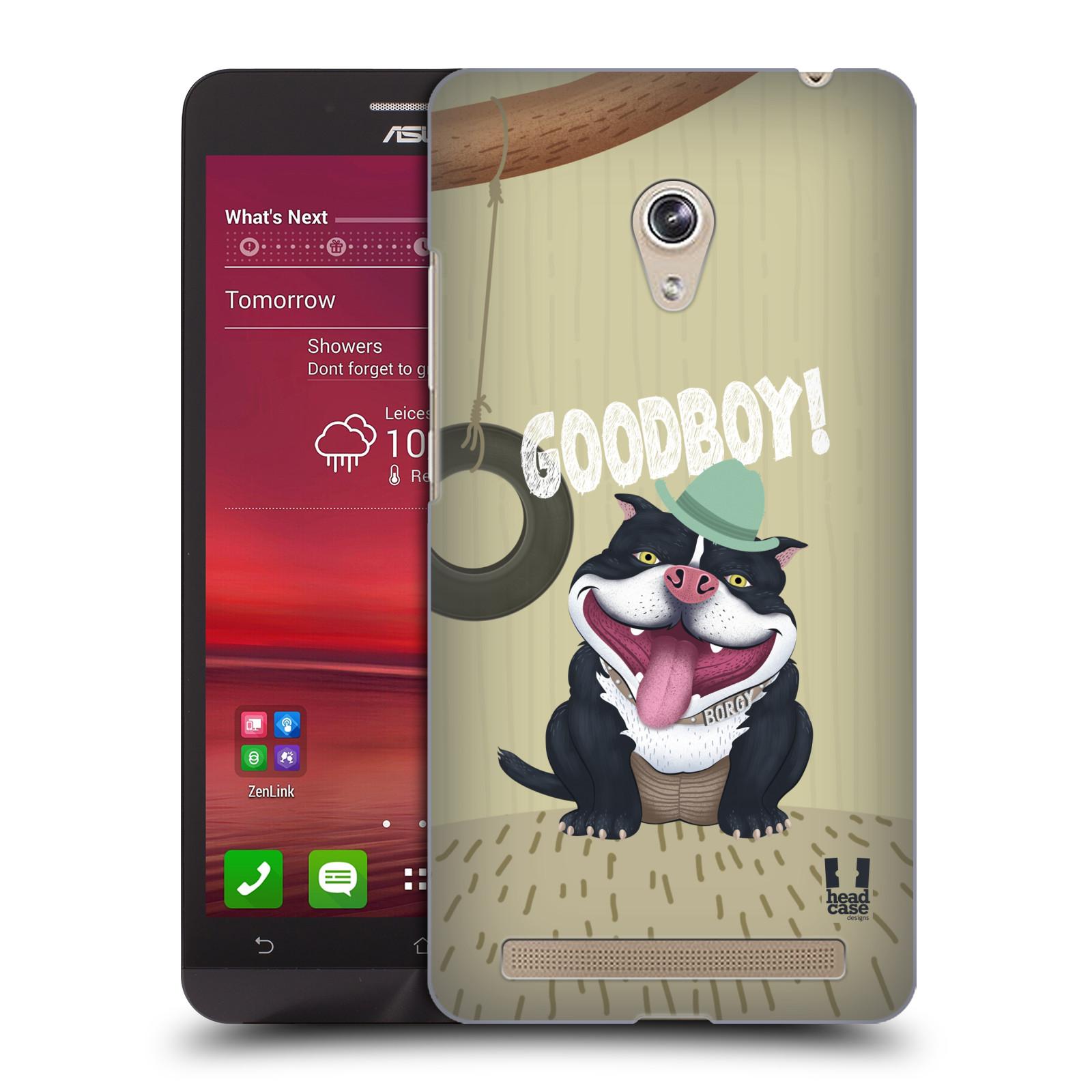 Plastové pouzdro na mobil Asus Zenfone 6 HEAD CASE Goodboy! Pejsek (Kryt či obal na mobilní telefon Asus Zenfone 6 A600CG / A601CG)