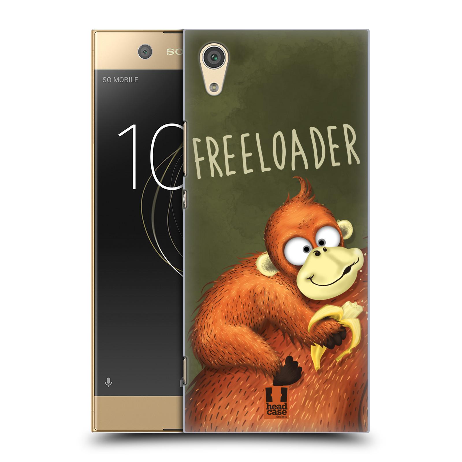Plastové pouzdro na mobil Sony Xperia XA1 - Head Case - Opičák Freeloader