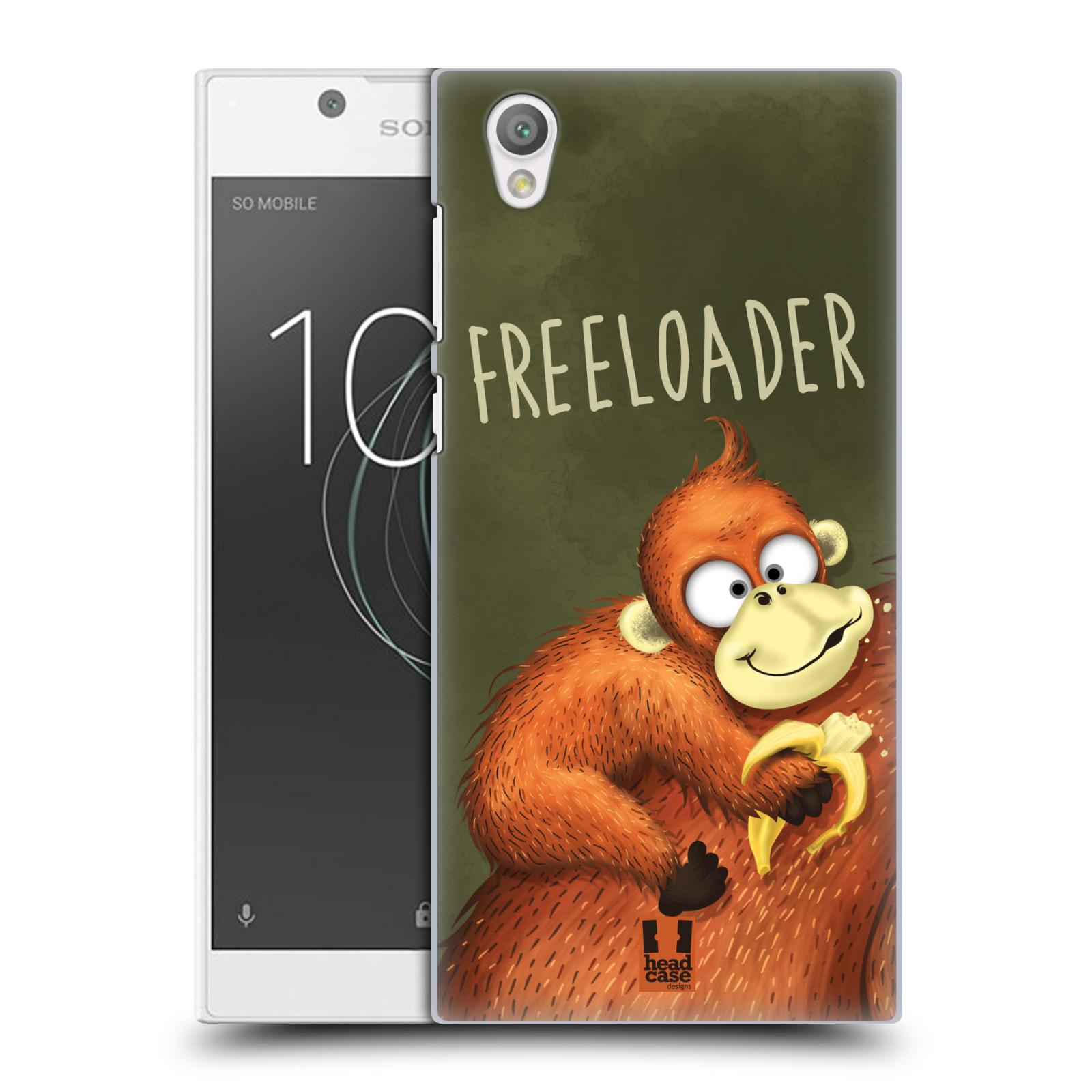 Plastové pouzdro na mobil Sony Xperia L1 - Head Case - Opičák Freeloader