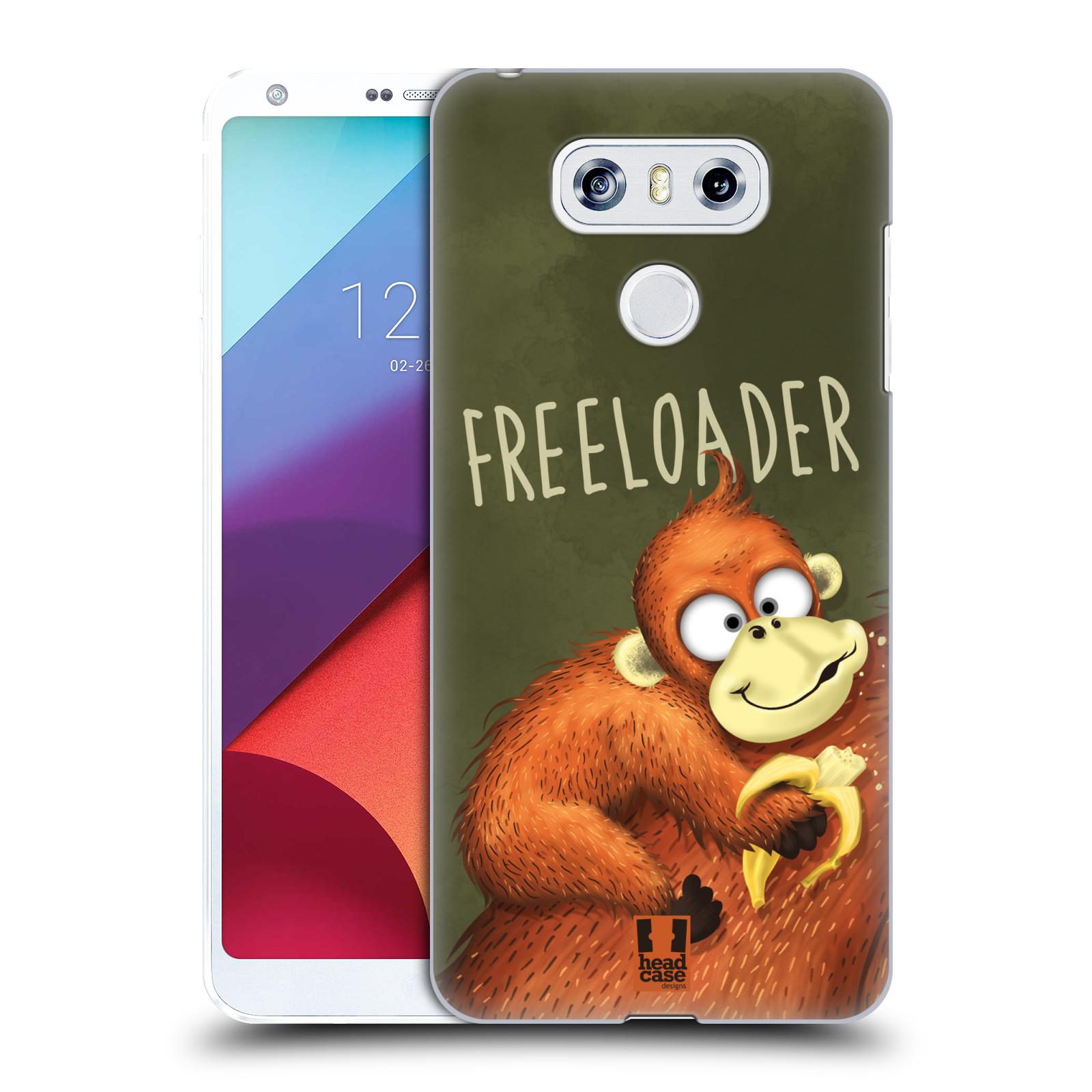 Plastové pouzdro na mobil LG G6 - Head Case Opičák Freeloader