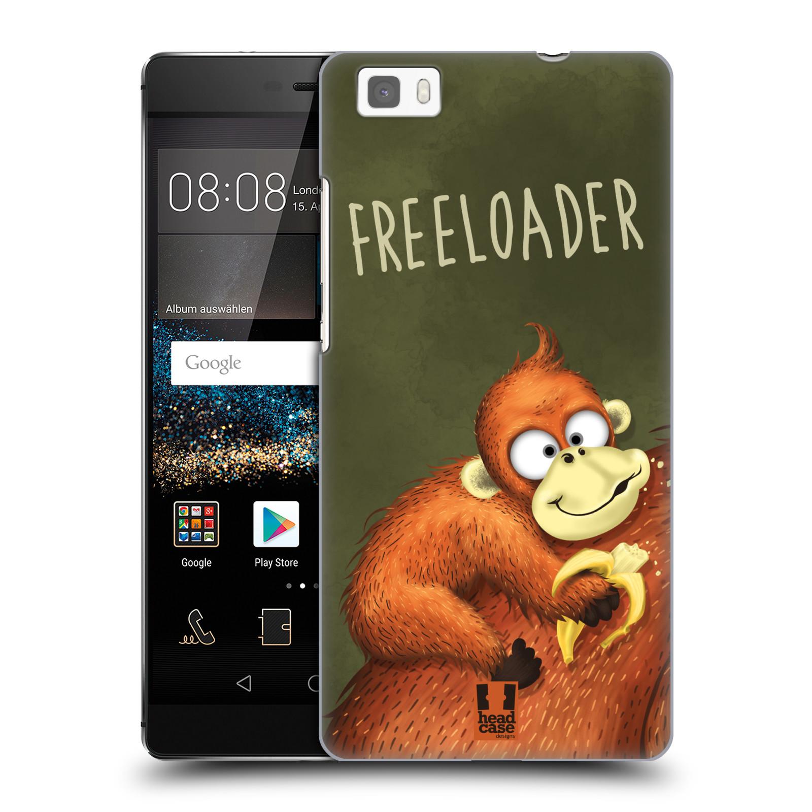 Plastové pouzdro na mobil Huawei P8 Lite HEAD CASE Opičák Freeloader