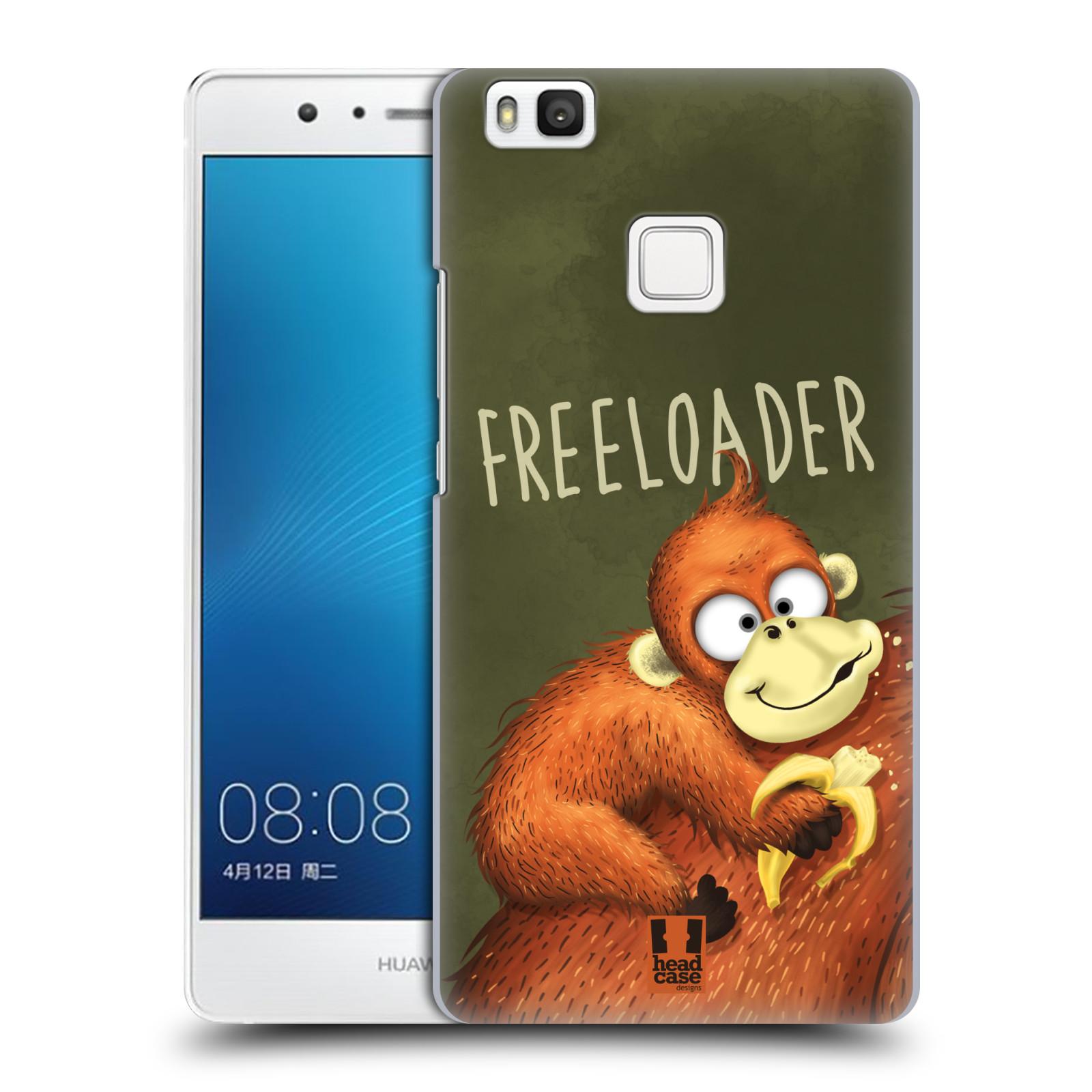 Plastové pouzdro na mobil Huawei P9 Lite HEAD CASE Opičák Freeloader